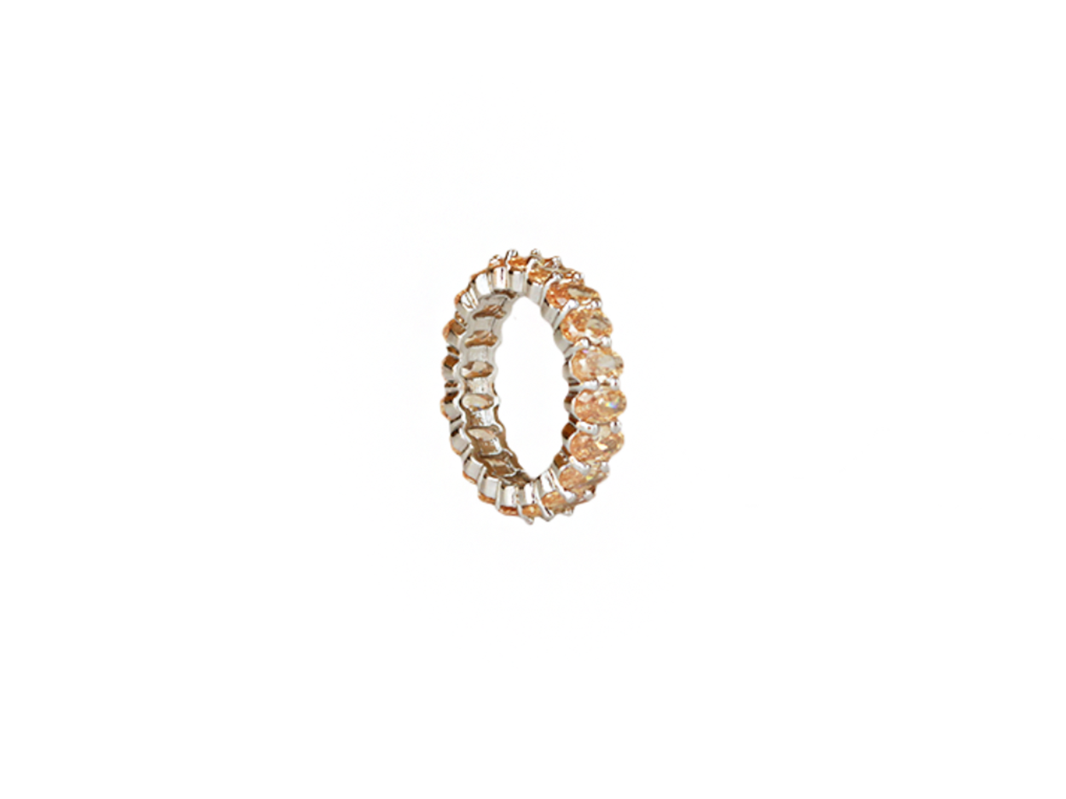 Champagne Ring by Lalou London on curated-crowd.com