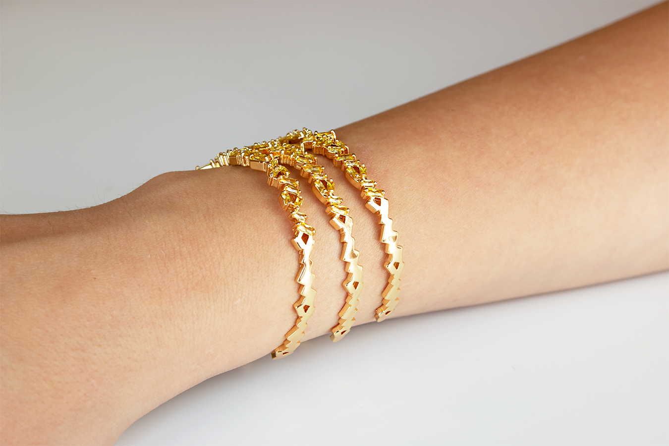 Chirine Bangle by Lalou London on curated-crowd.com