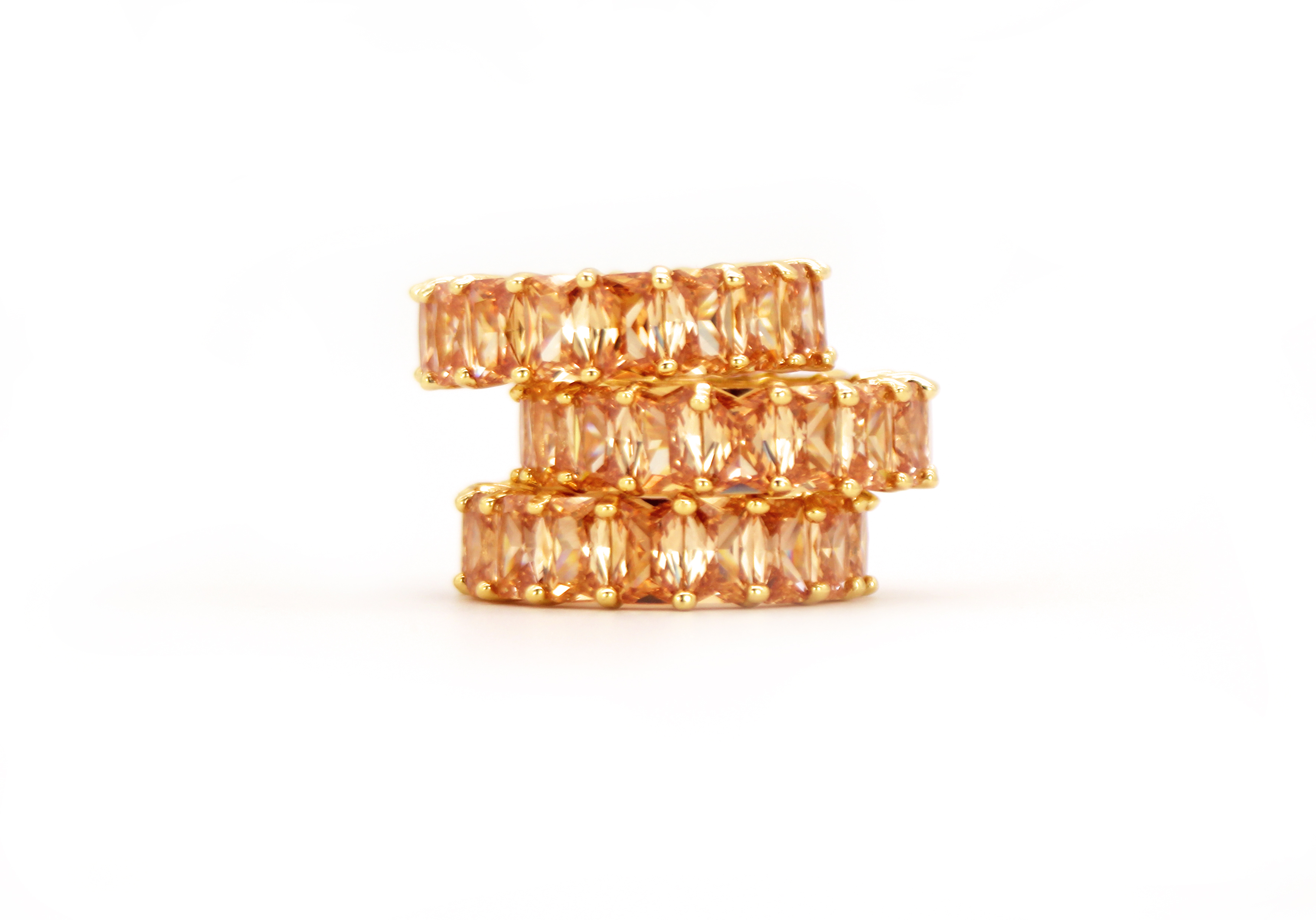 Le Coucher du Soleil Ring by Lalou London on curated-crowd.com