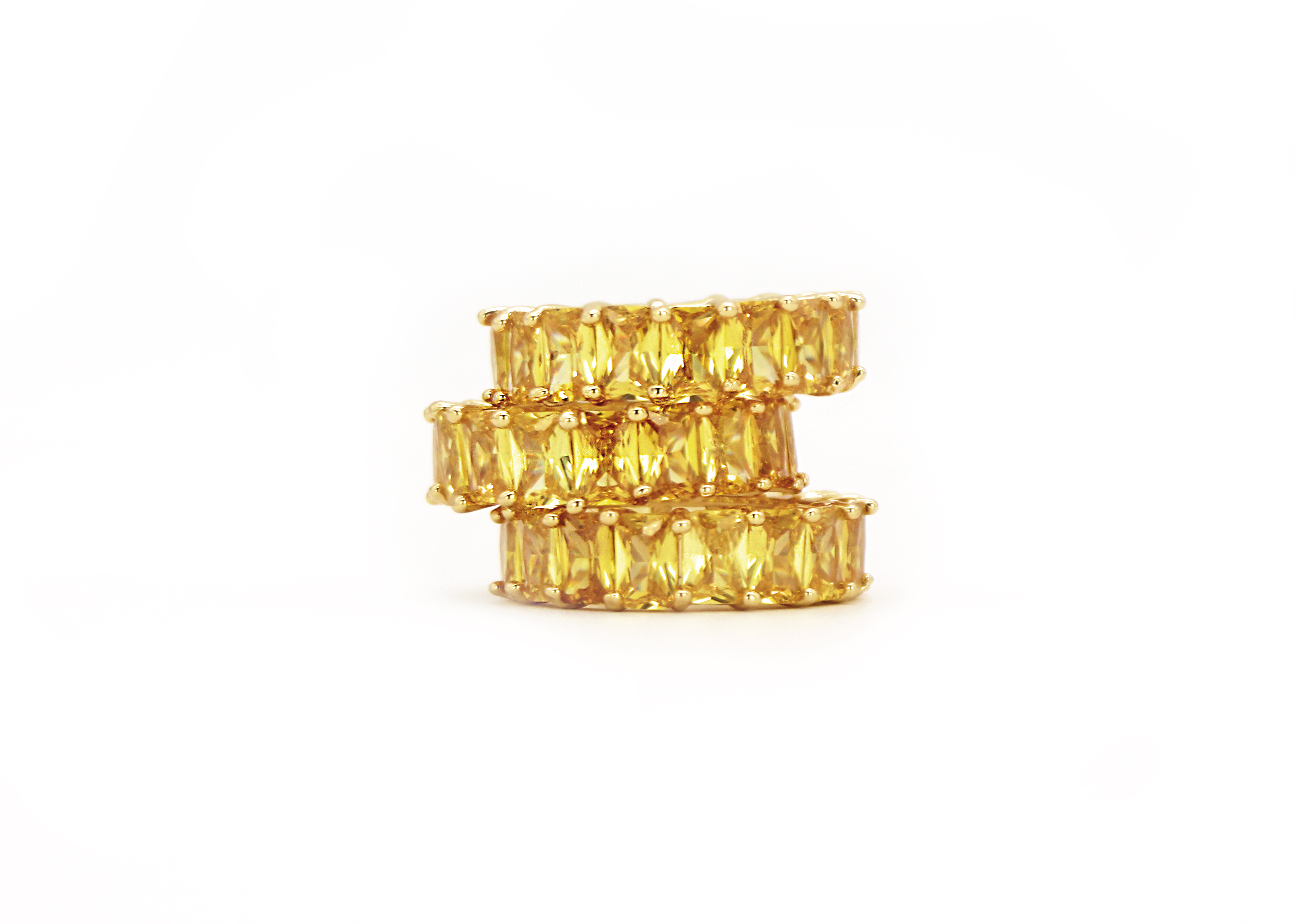 Bouton D'or Ring by Lalou London on curated-crowd.com