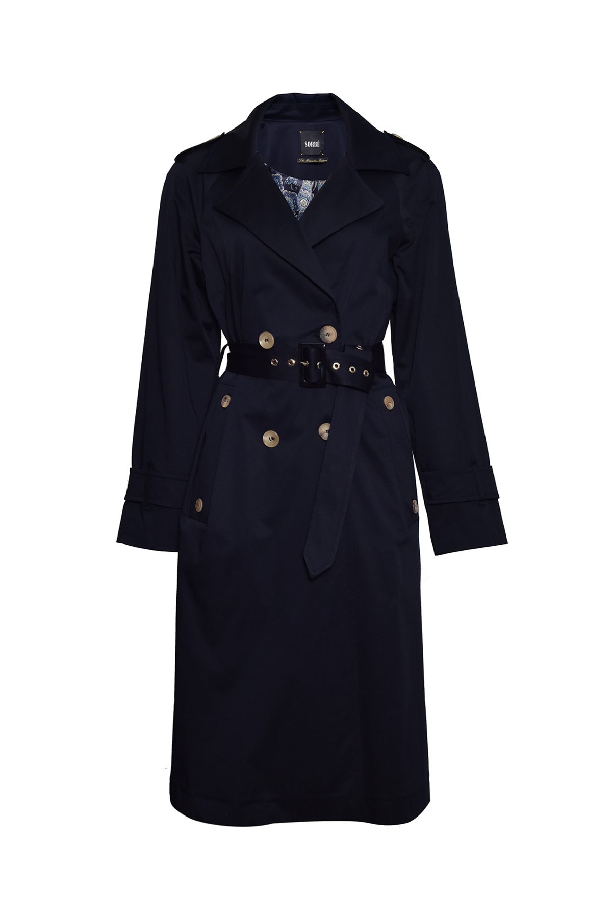 Trench Coat Double Breasted by Sorbé on curated-crowd.com