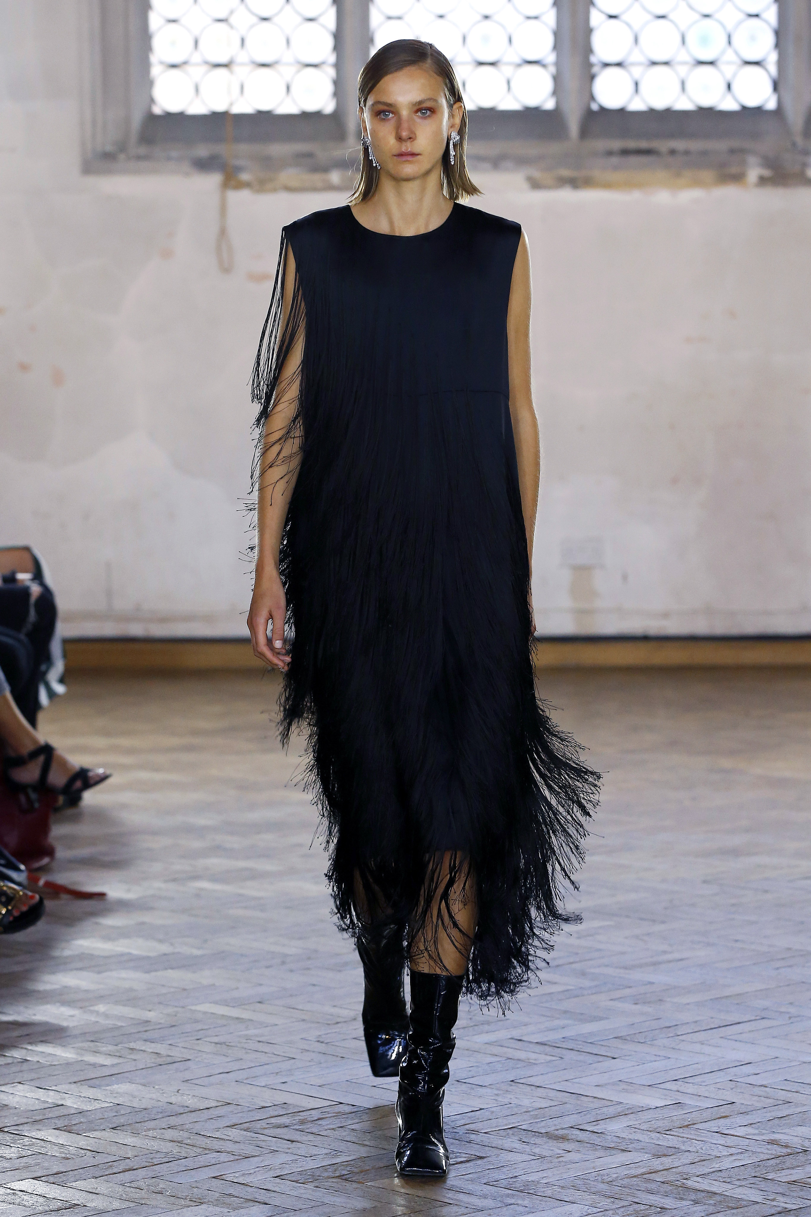 Diagonal Fringe Dress by Sharon Wauchob on curated-crowd.com