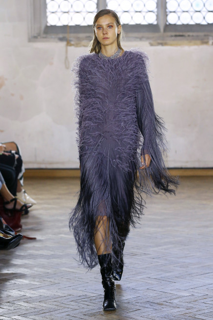 Fringed Feather Dress by Sharon Wauchob on curated-crowd.com