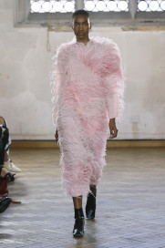 Tonal Feather Dress by Sharon Wauchob on curated-crowd.com