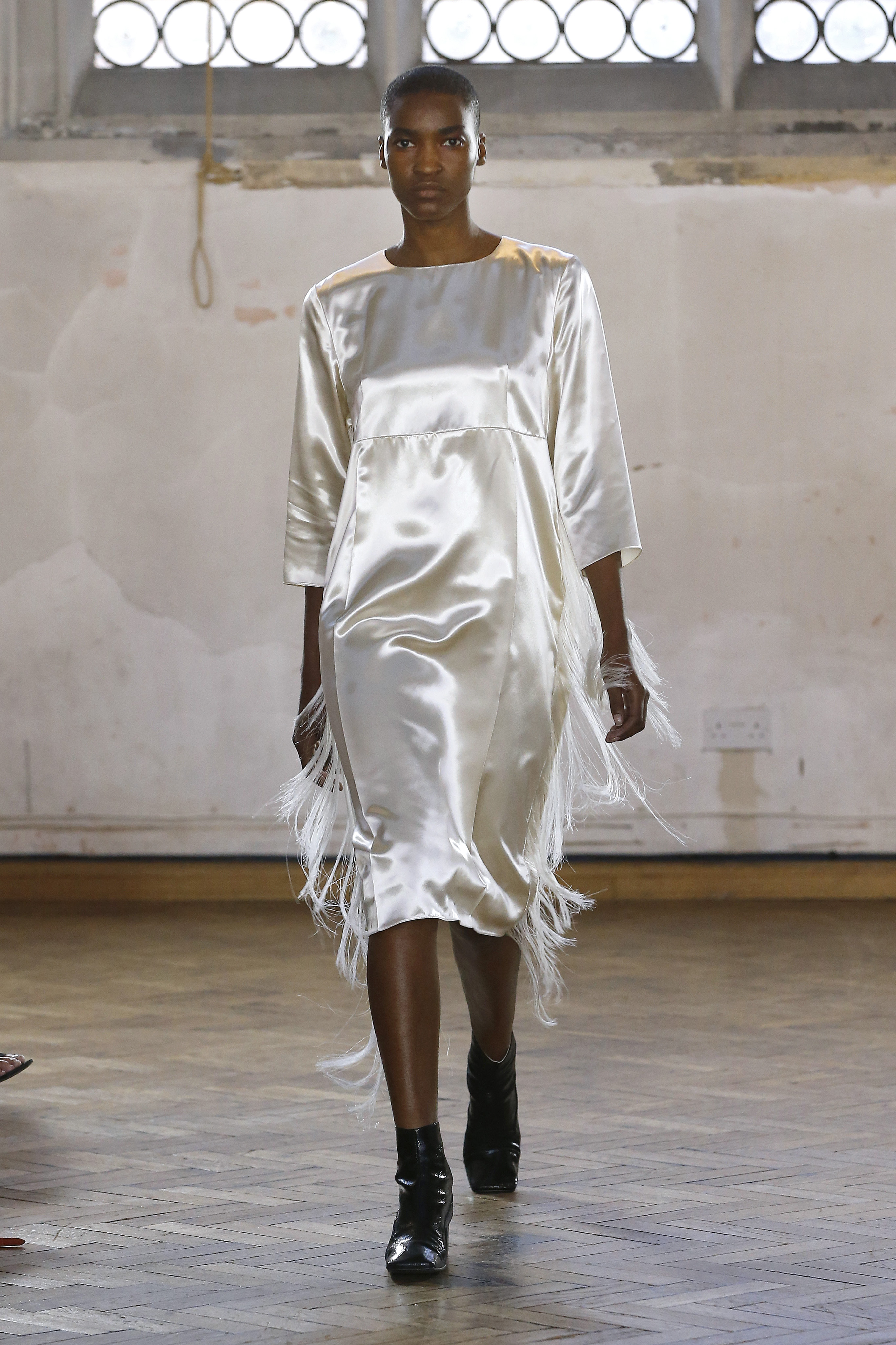 Fringed Seam Dress by Sharon Wauchob on curated-crowd.com