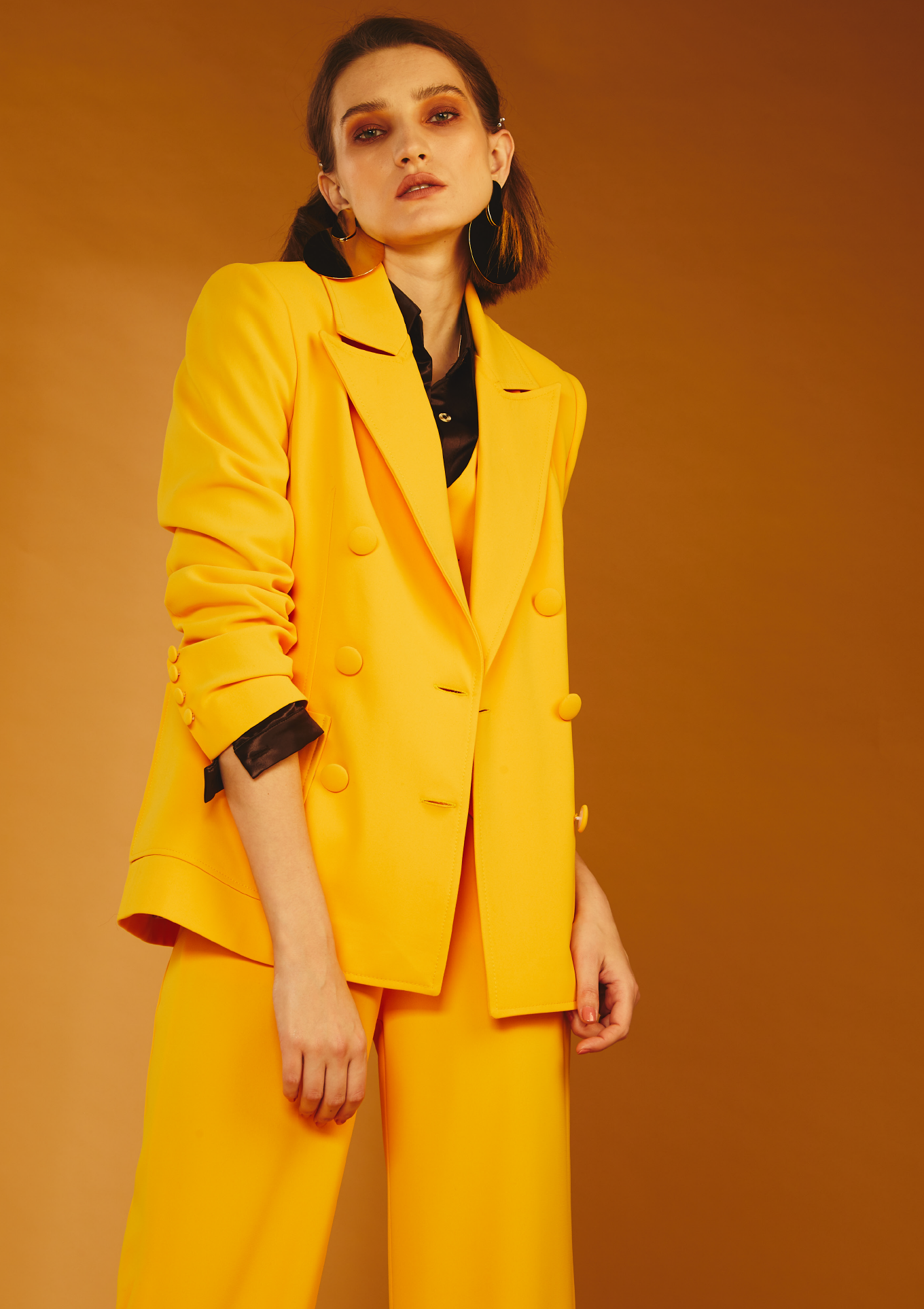 Whitney Blazer - Yellow by Jessica K on curated-crowd.com