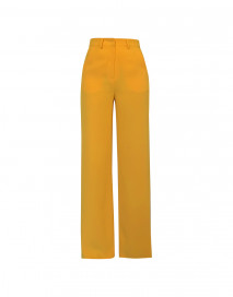 Caspien Pants - Yellow by Jessica K on curated-crowd.com