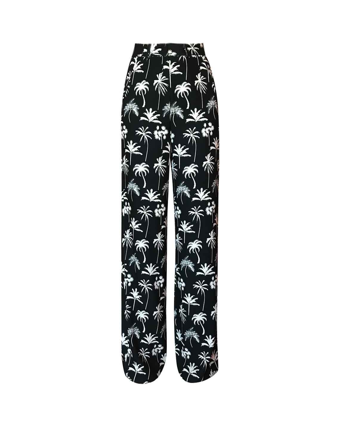 Caspien Pants - Palm Print by Jessica K on curated-crowd.com
