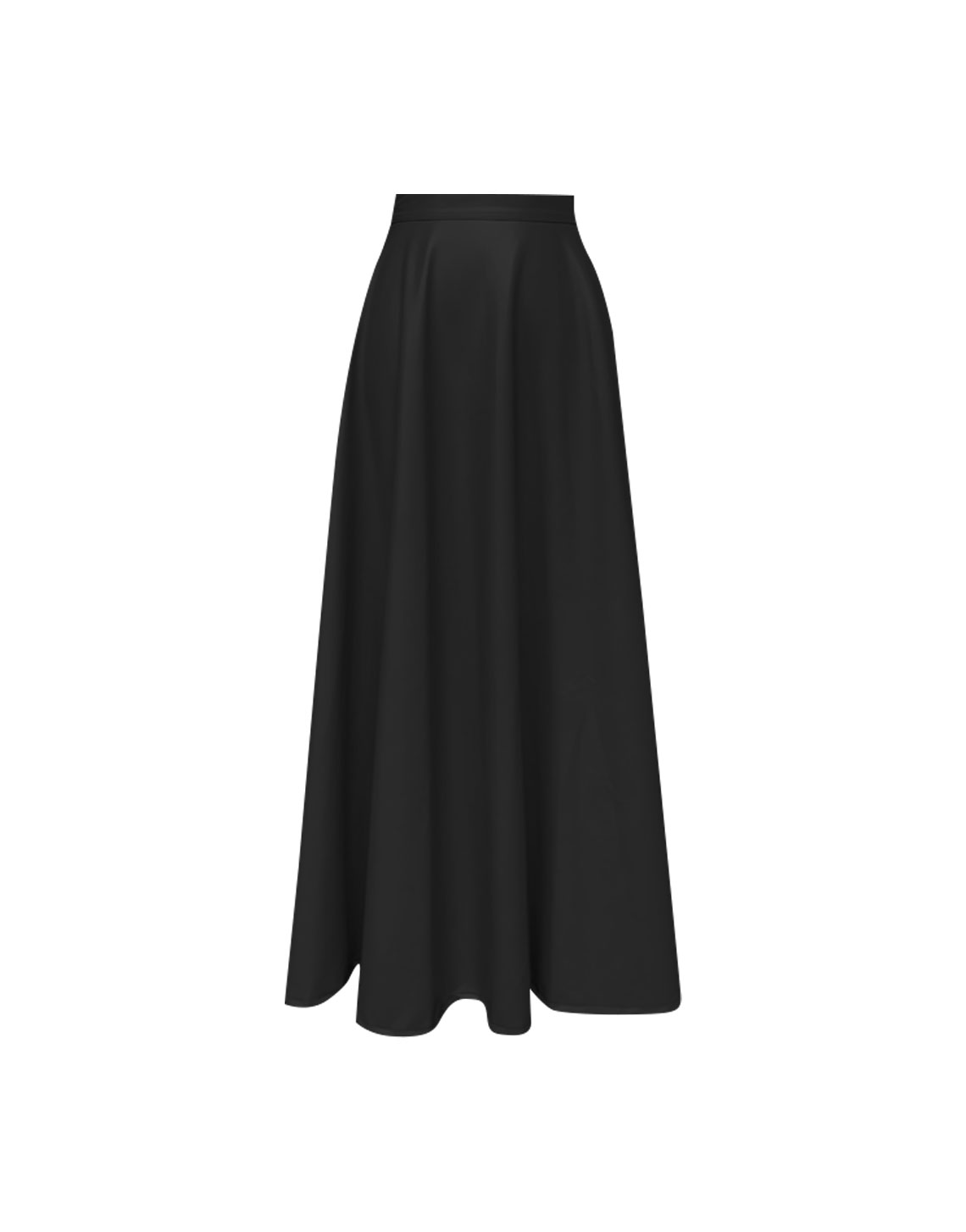 New Hibiscus Skirt - Black by Jessica K on curated-crowd.com