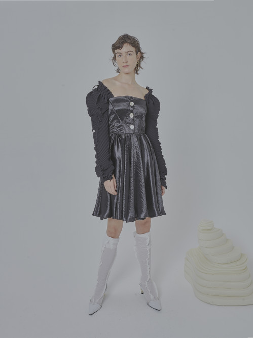 Topaz Mini Dress by Georgia Hardinge on curated-crowd.com