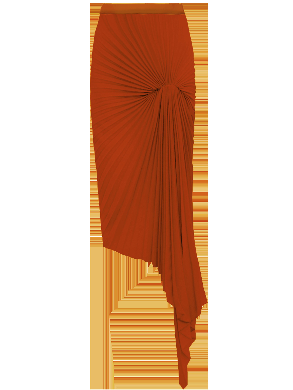Dazed Skirt - Orange by Georgia Hardinge on curated-crowd.com
