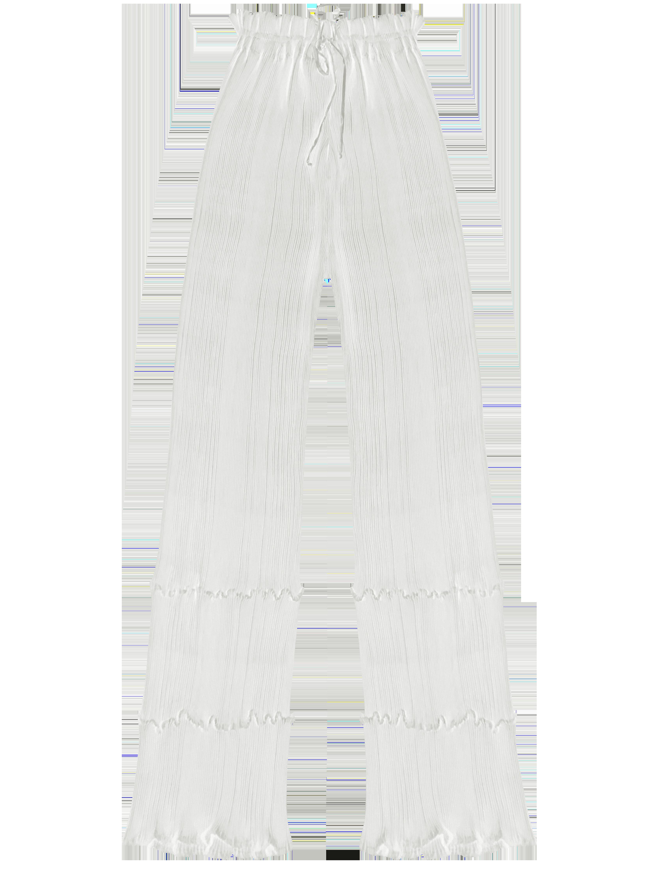 Quartz Trouser - White by Georgia Hardinge on curated-crowd.com