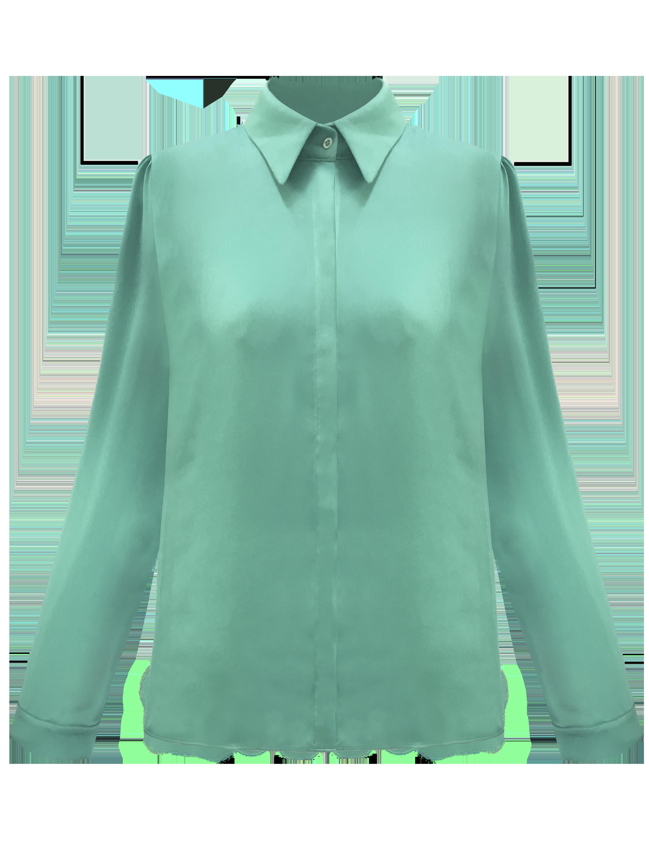 Solar Shirt - Green by Georgia Hardinge on curated-crowd.com