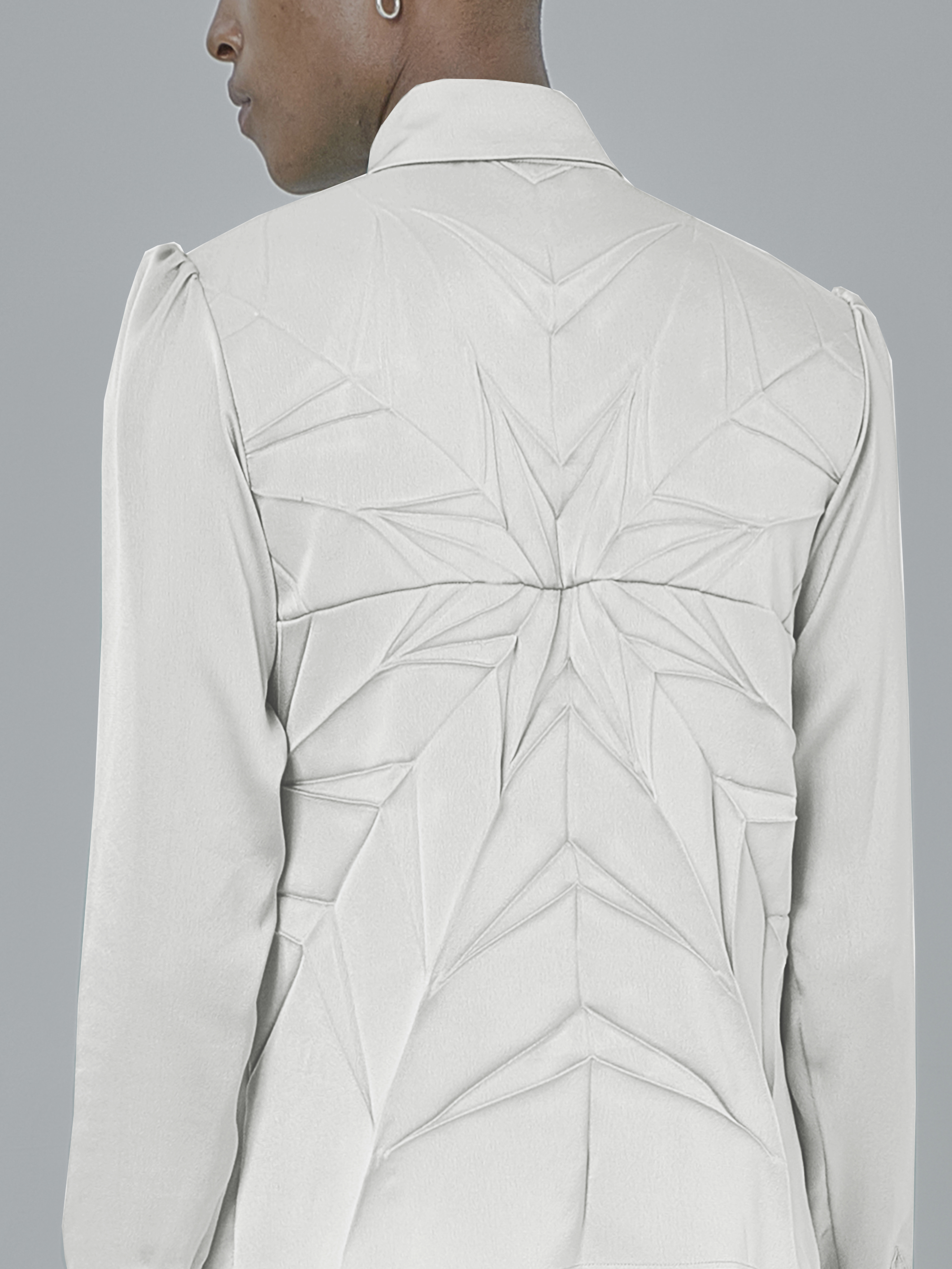 Solar Shirt - White by Georgia Hardinge on curated-crowd.com