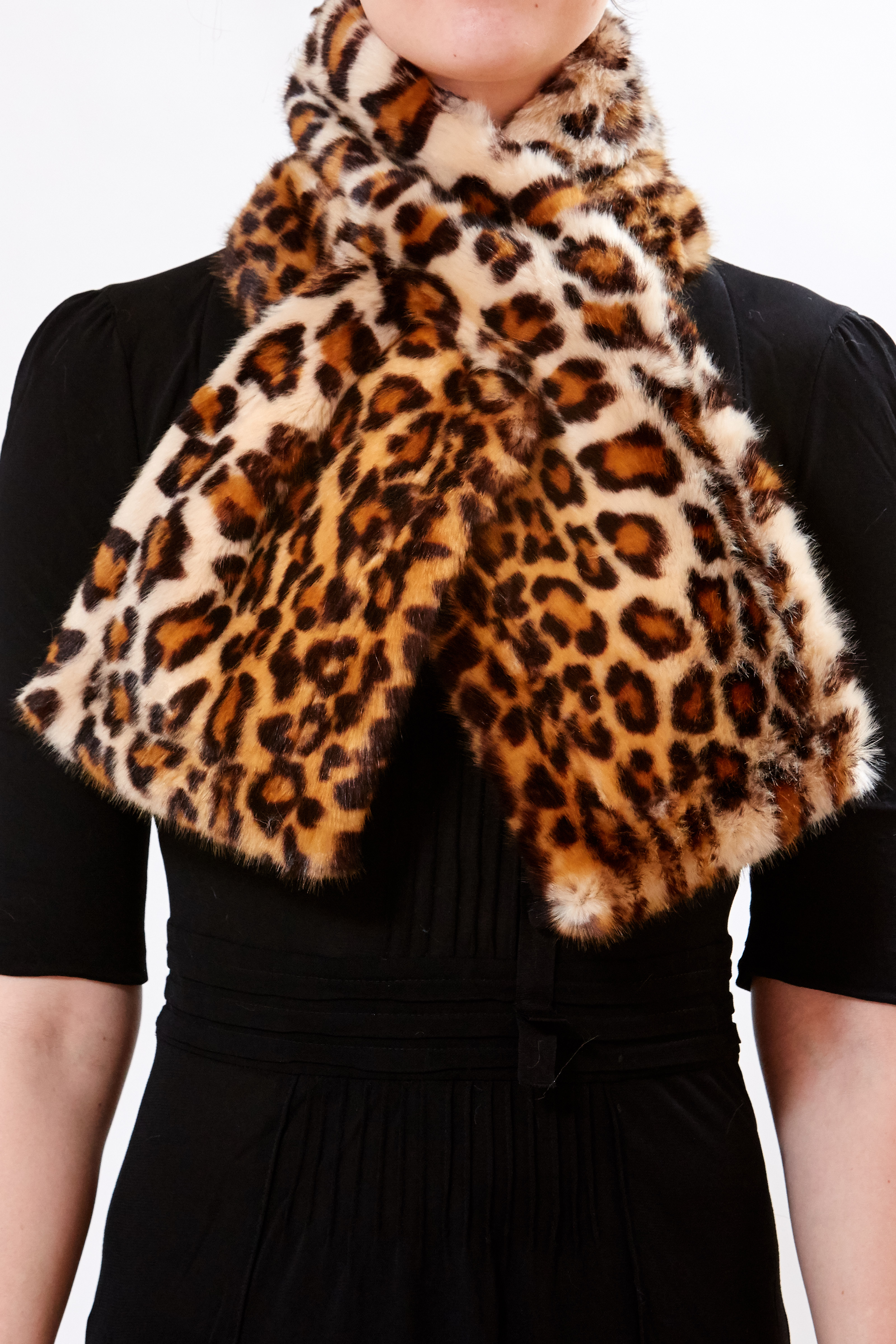 Scarf - Leopard by Maison Atia on curated-crowd.com