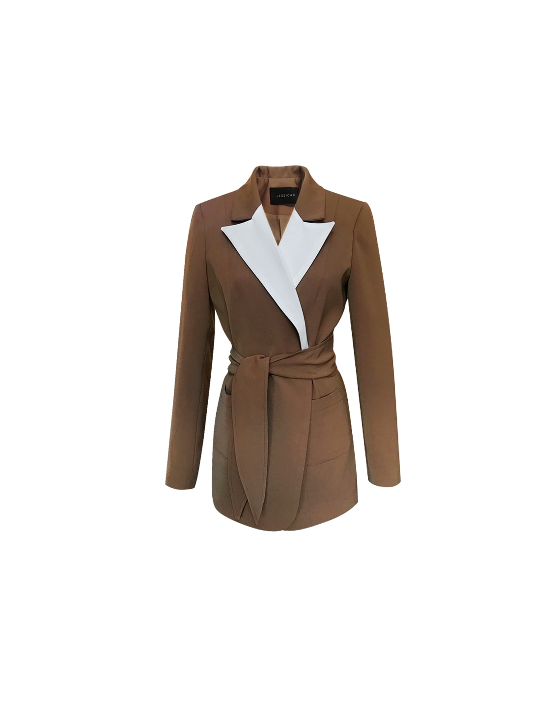 Ashley Blazer - Beige by Jessica K on curated-crowd.com