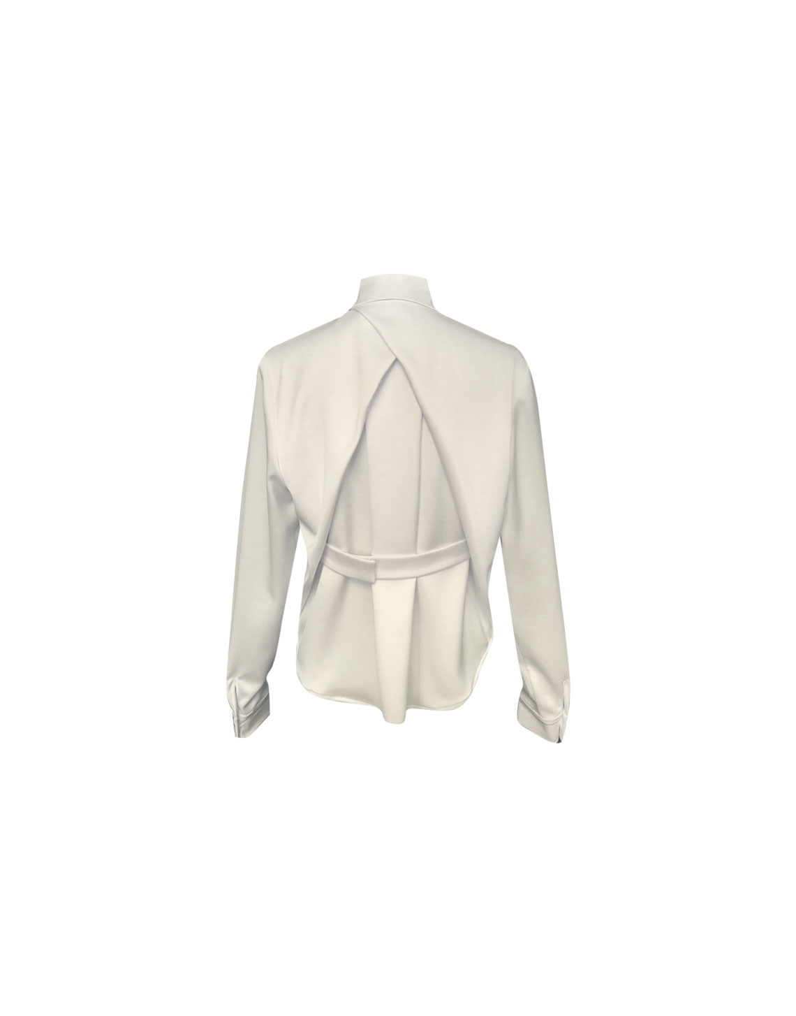 Dume Shirt - White by Jessica K on curated-crowd.com