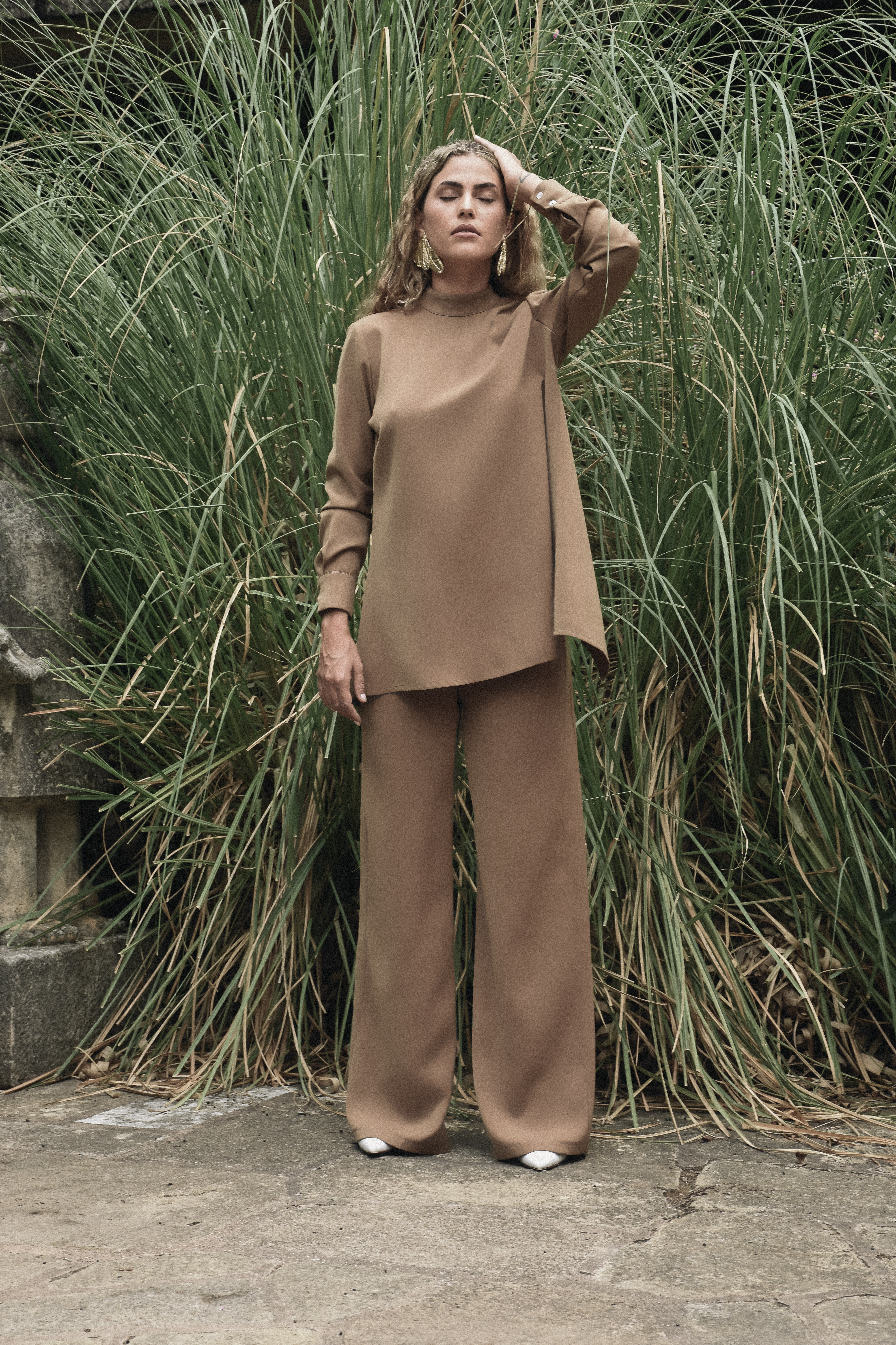 Caspien Pants - Camel by Jessica K on curated-crowd.com