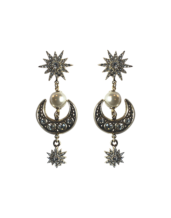 Moon Earrings by Jessica K on curated-crowd.com