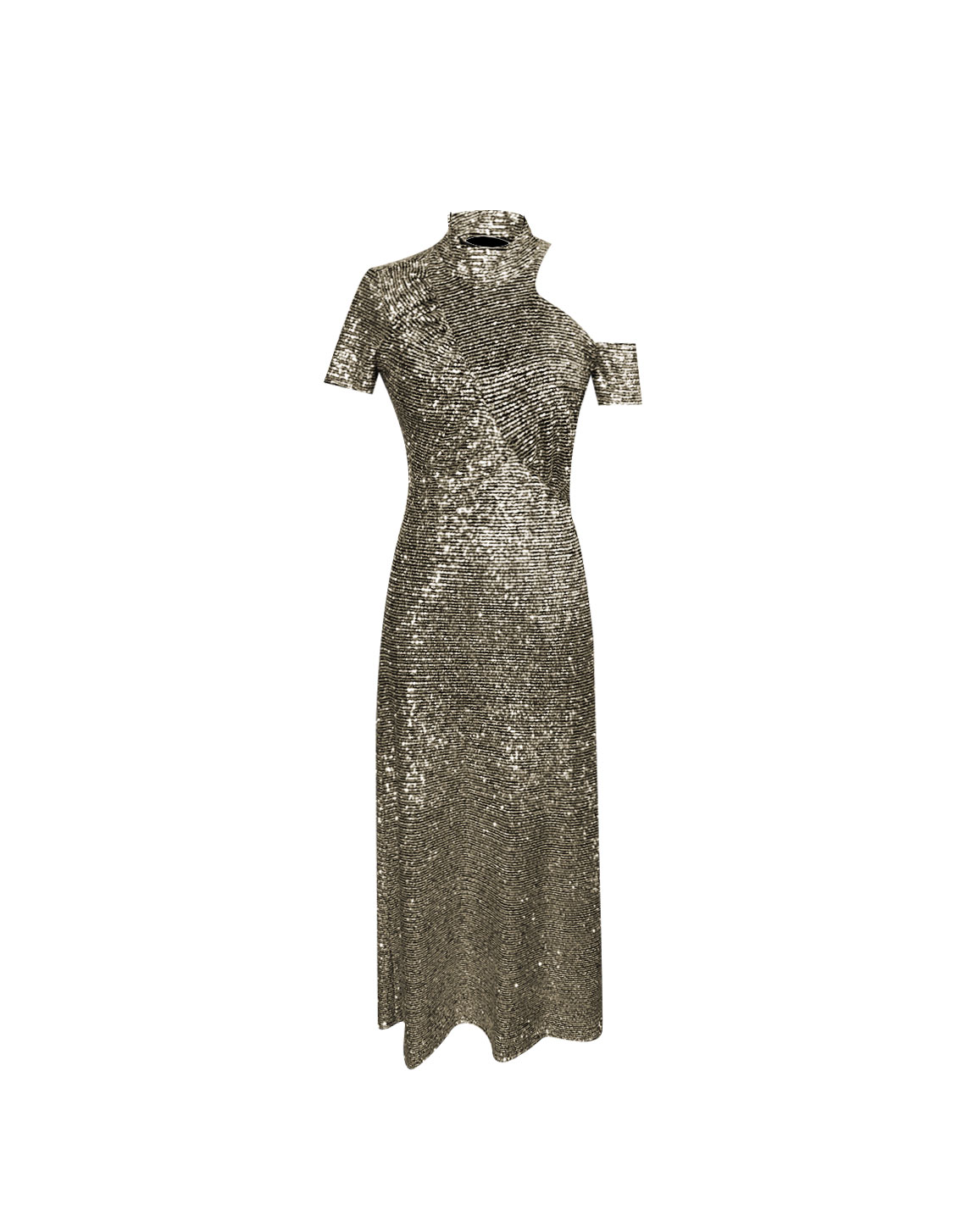 Celtic Dress - Sequins Gold by Jessica K on curated-crowd.com