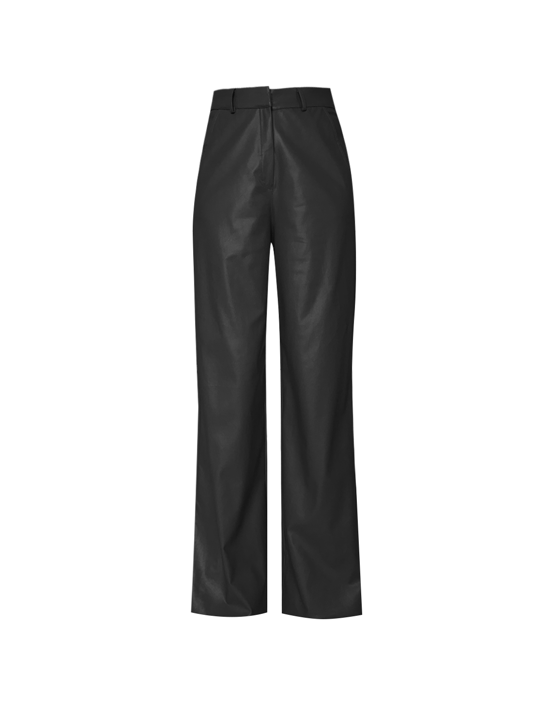 Caspien Pants Leather - Black by Jessica K on curated-crowd.com