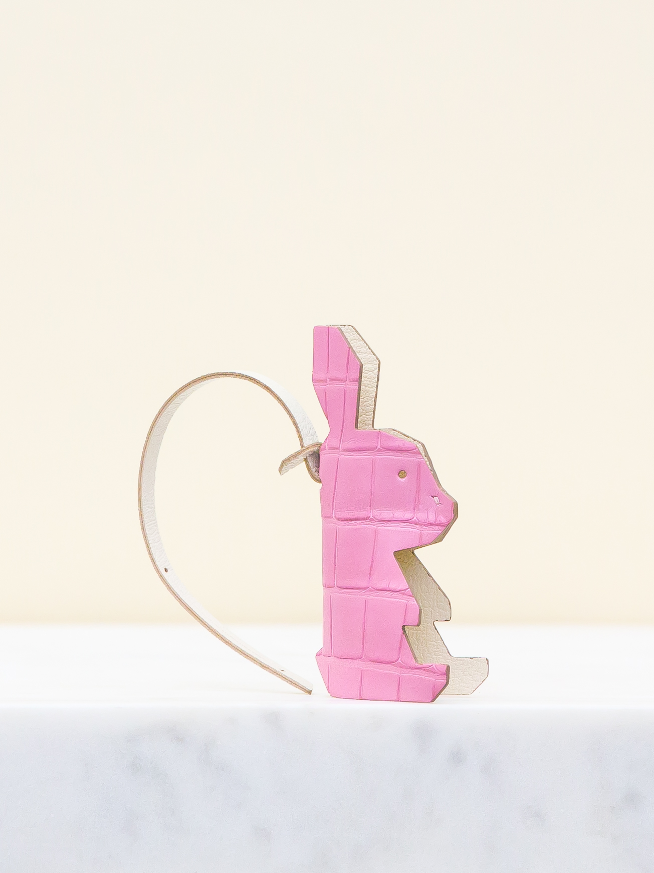 Chloe Bag Charm - Pink by Chance Mystère on curated-crowd.com