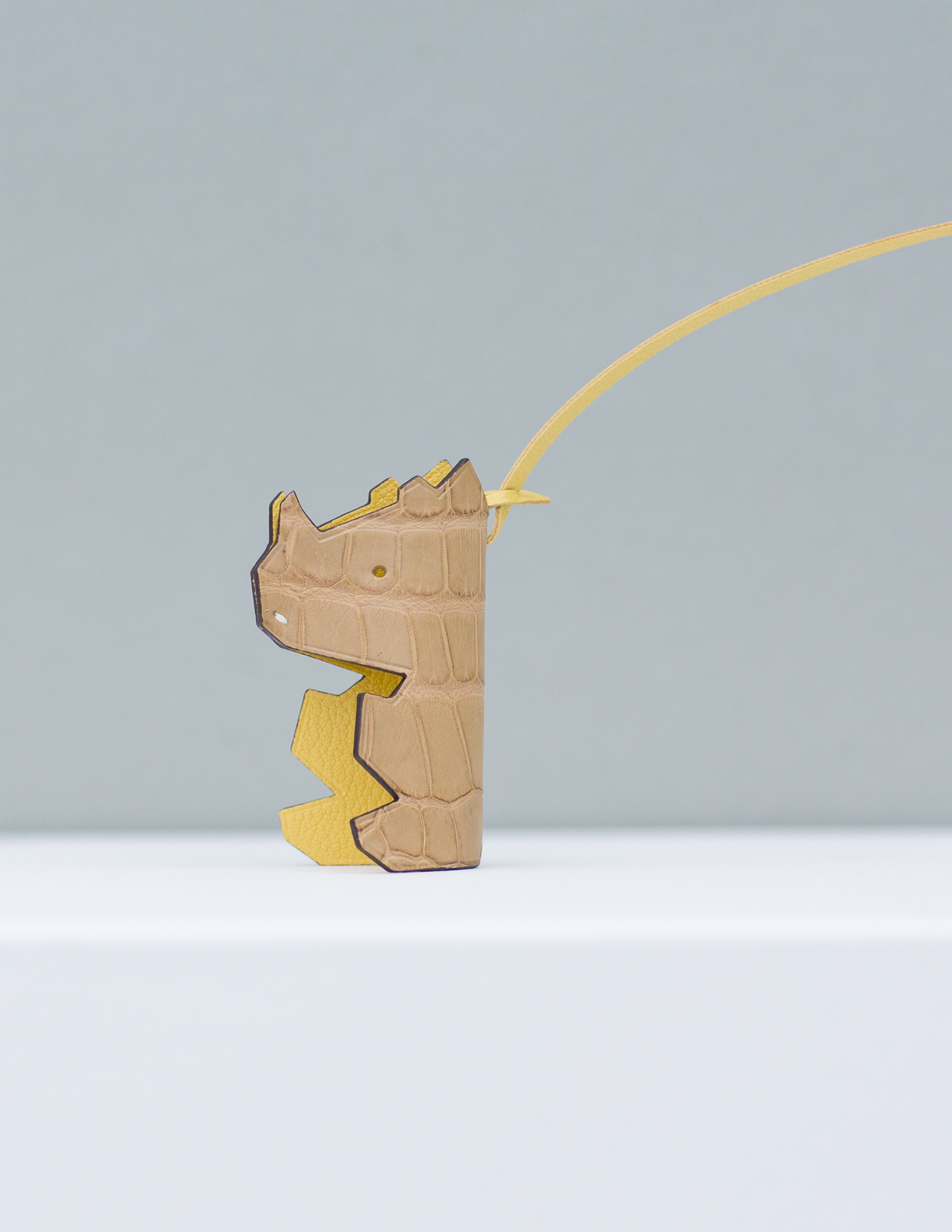Mr Nono Bag Charm - Yellow by Chance Mystère on curated-crowd.com