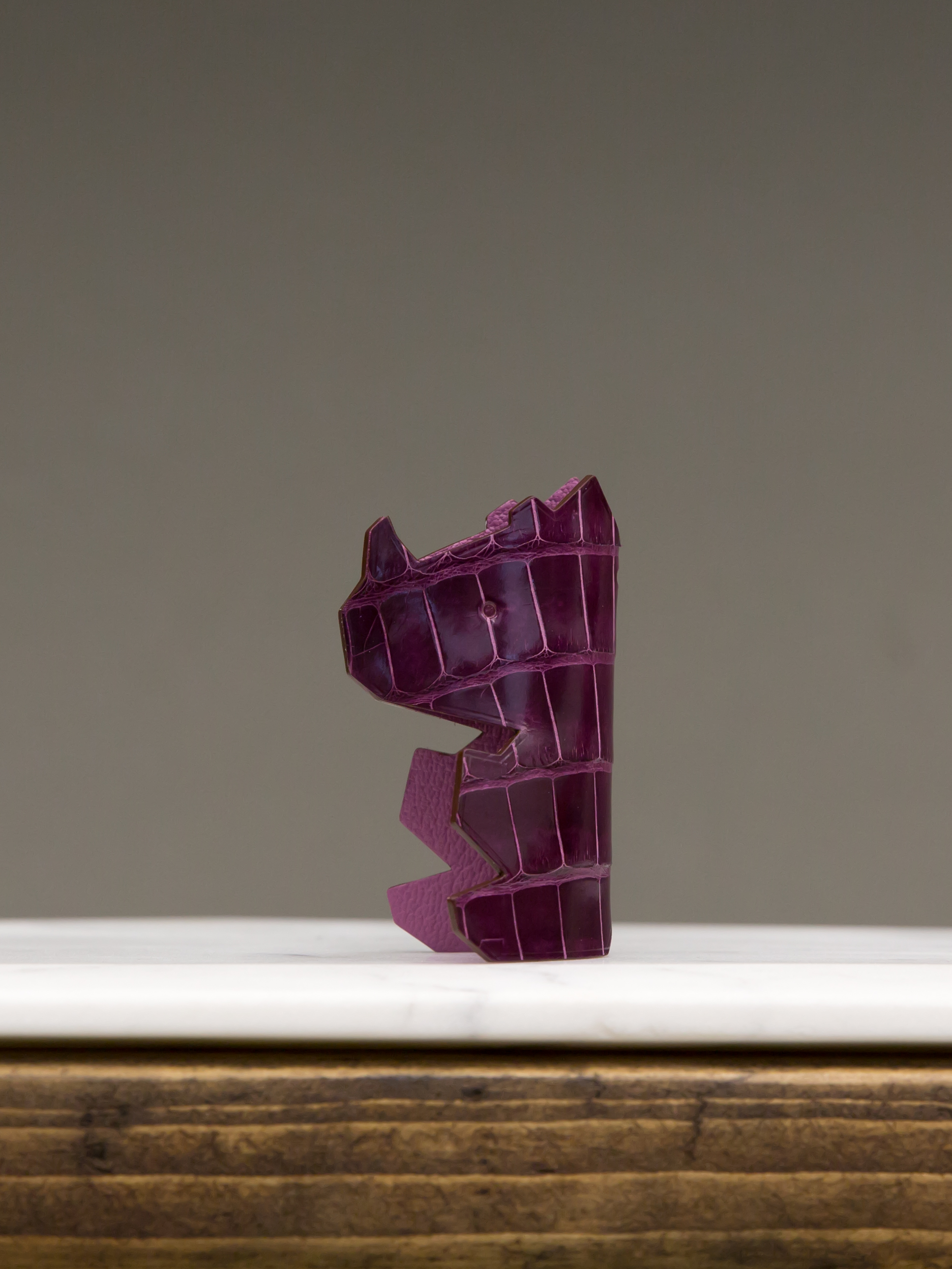 Mr Nono Bag Charm - Purple by Chance Mystère on curated-crowd.com