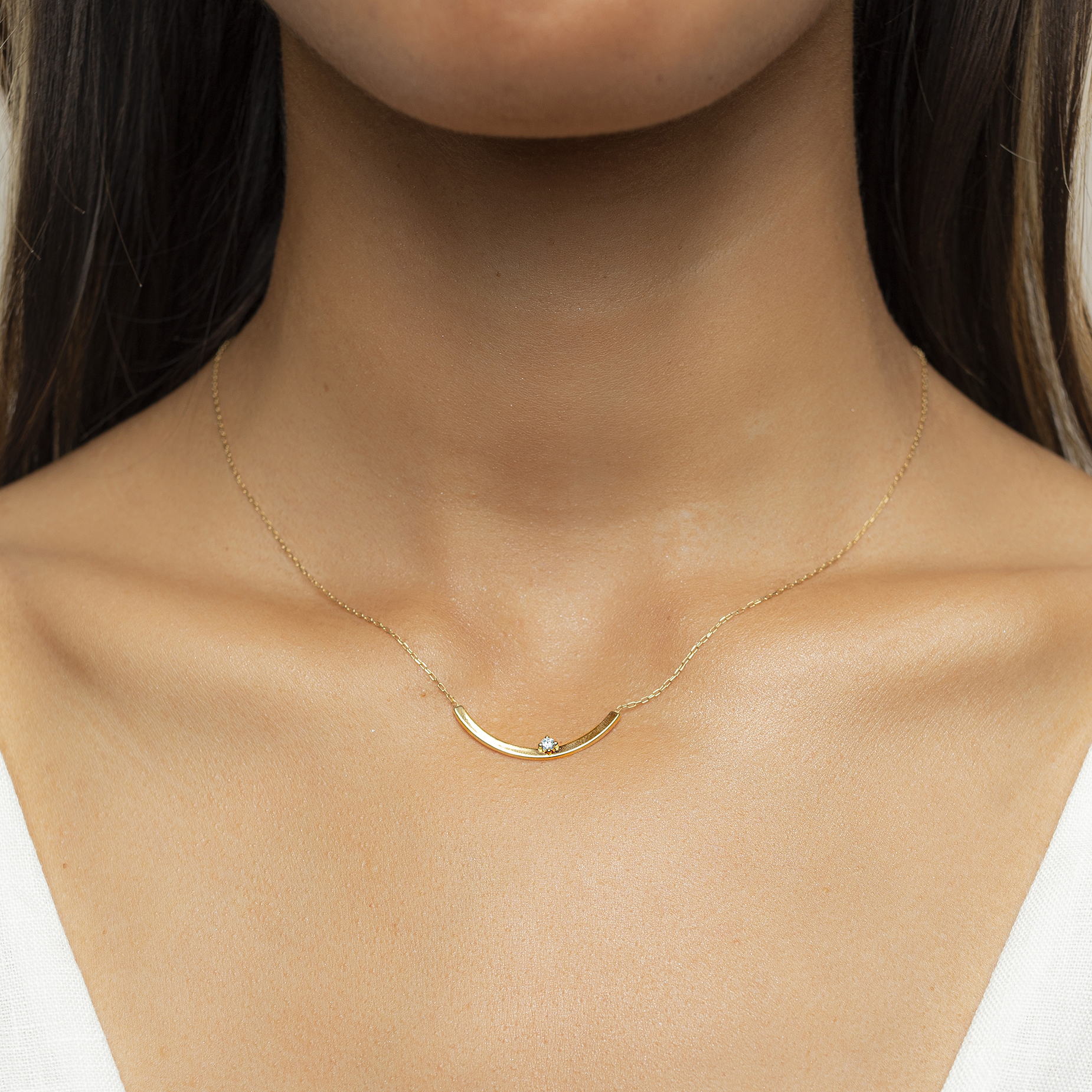 Dimple Necklace by N-UE Fine Jewellery on curated-crowd.com