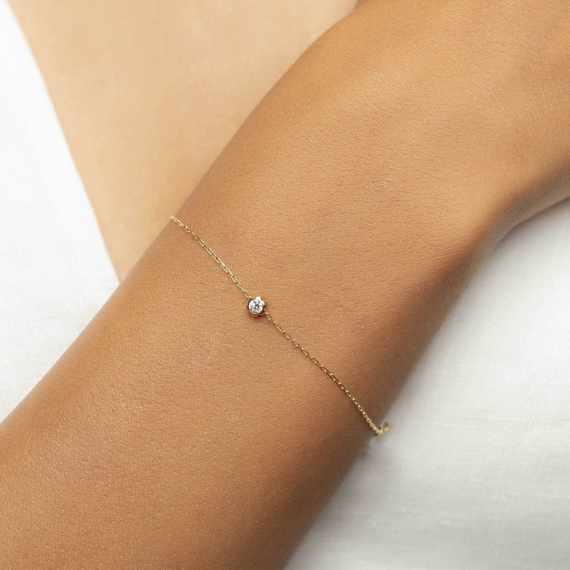 Rose Bracelet by N-UE Fine Jewellery on curated-crowd.com