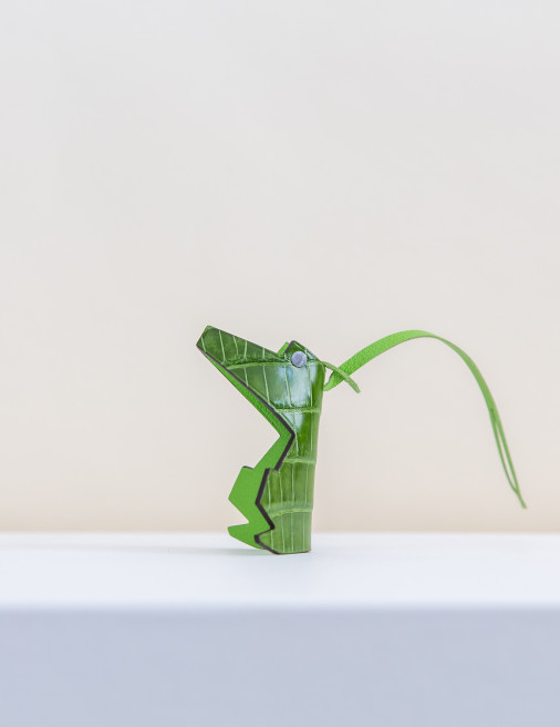 Mr Croco Bag Charm by Chance Mystère on curated-crowd.com