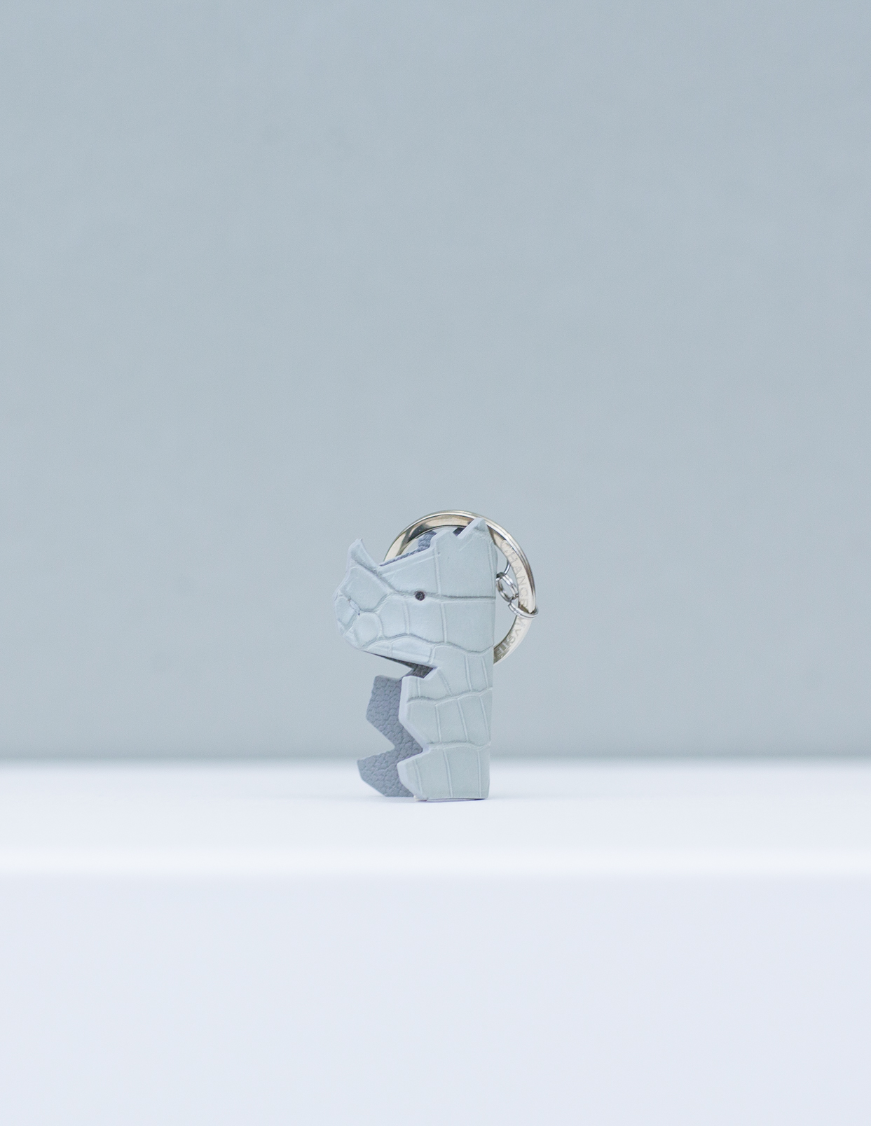 Baby Nono Keyring - Grey by Chance Mystère on curated-crowd.com