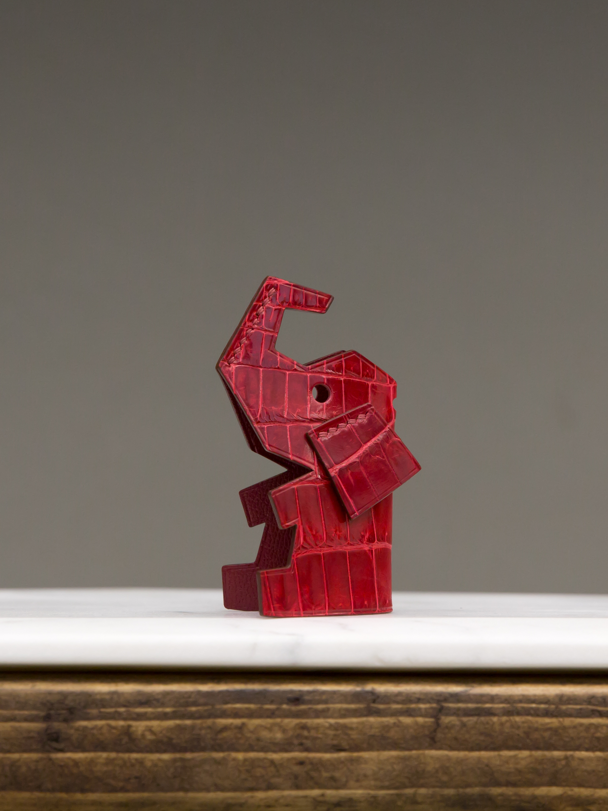 Miss Elo Bag Charm - Red by Chance Mystère on curated-crowd.com