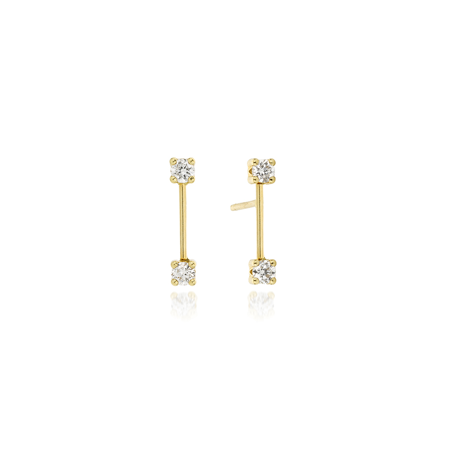 Sun Kiss Earrings by N-UE Fine Jewellery on curated-crowd.com