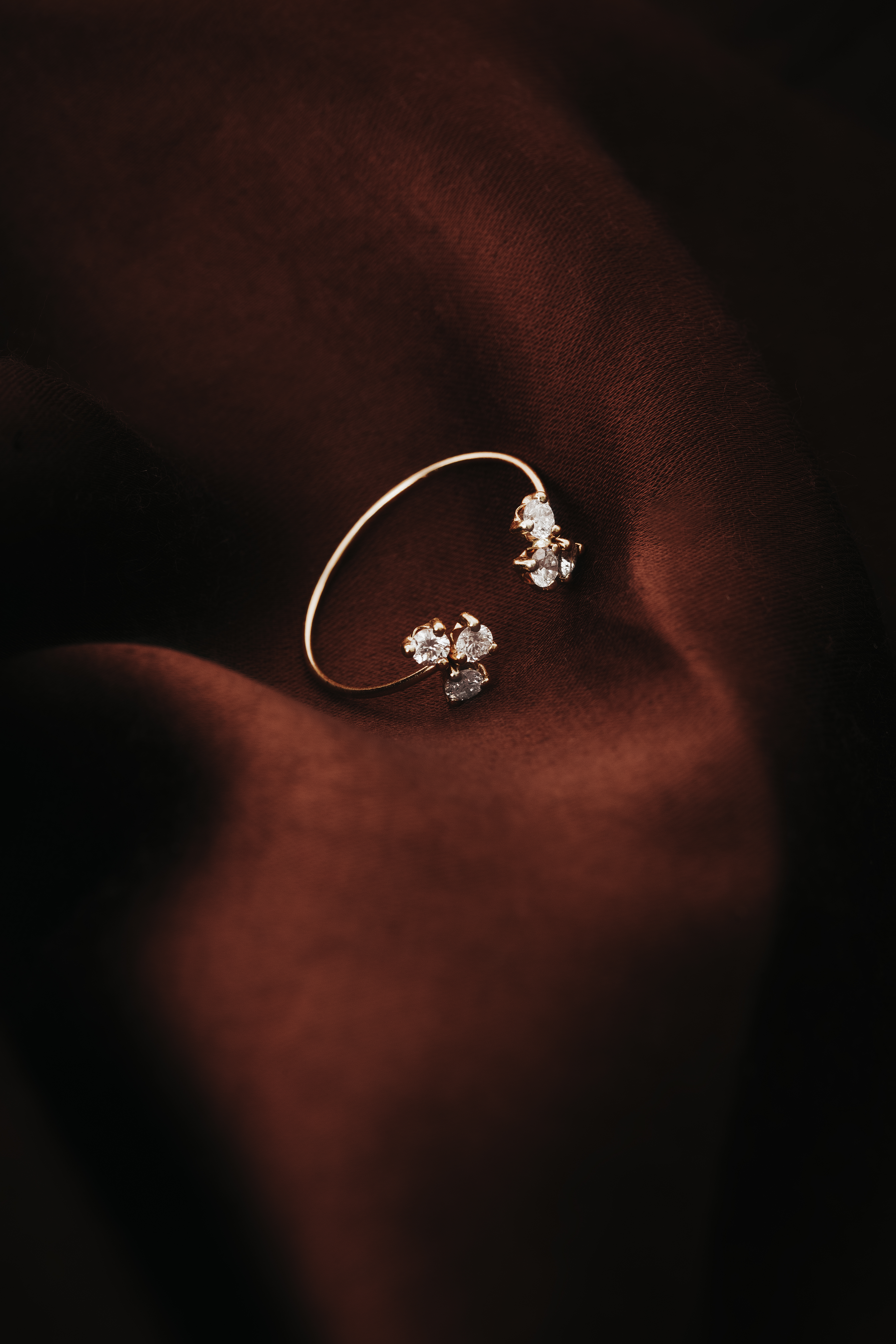 Twin Heavenly Ring by N-UE Fine Jewellery on curated-crowd.com