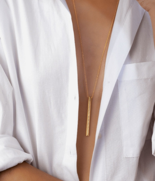 Baton Necklace by Maramz on curated-crowd.com