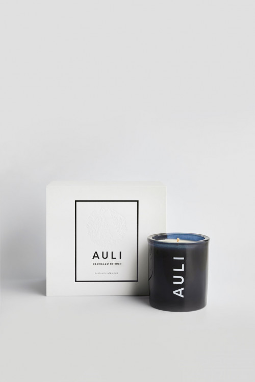 Cedrello Citron   Candle by Auli London on curated-crowd.com