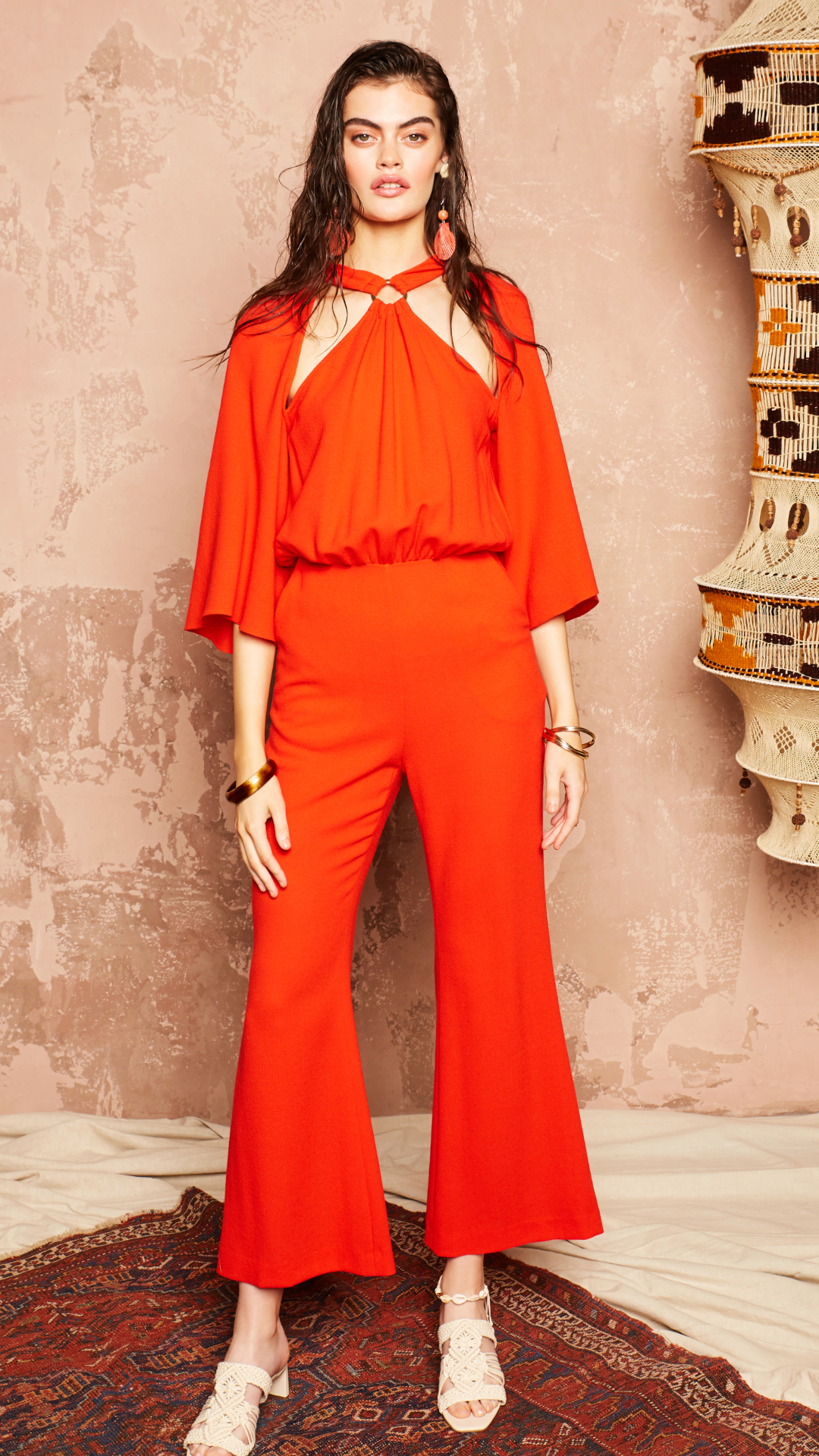 Farrah Jumpsuit by Alexandra Kaiser on curated-crowd.com