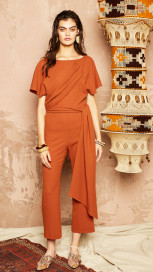 Faye Jumpsuit by Alexandra Kaiser on curated-crowd.com