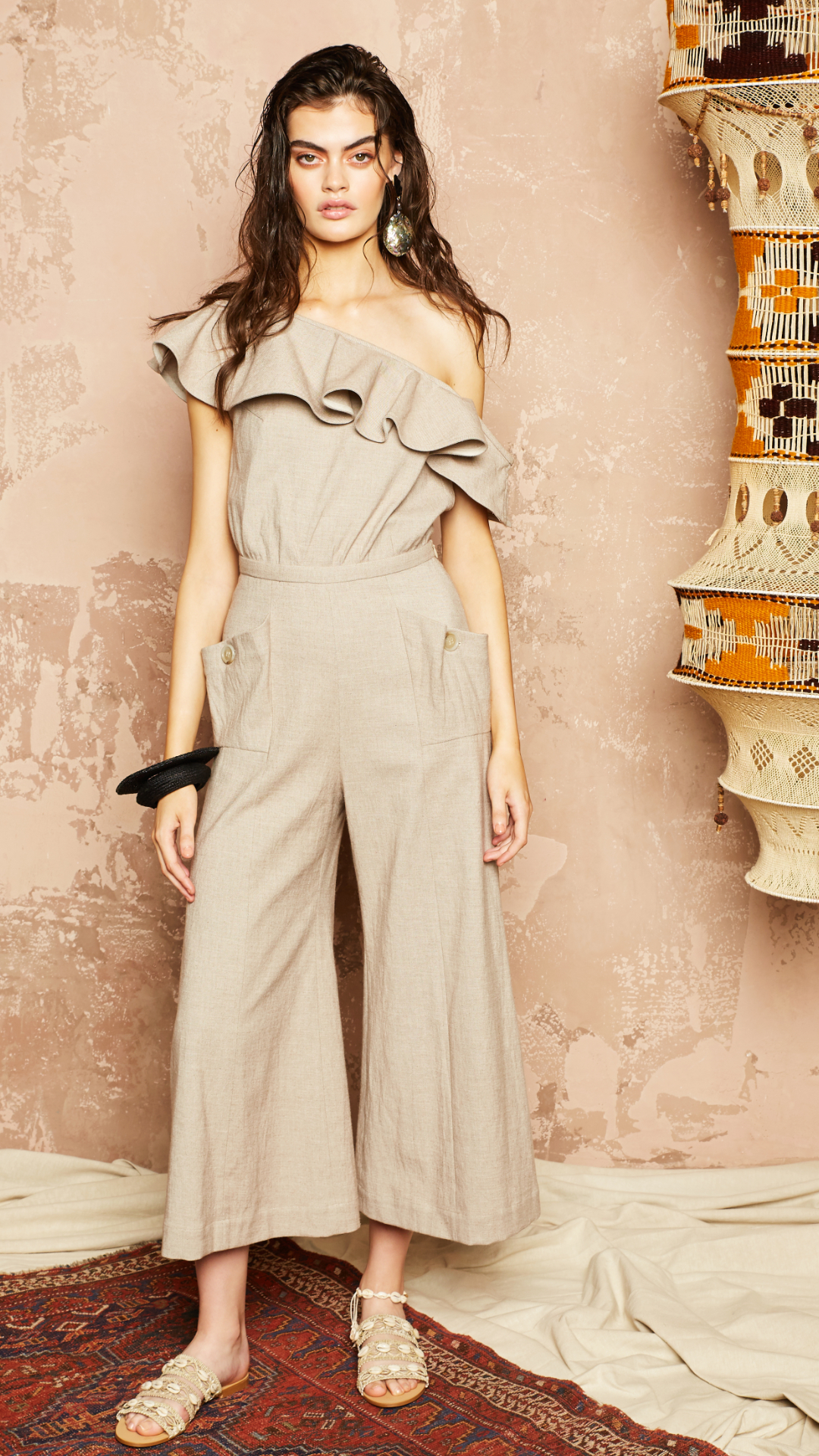 Fran Jumpsuit by Alexandra Kaiser on curated-crowd.com