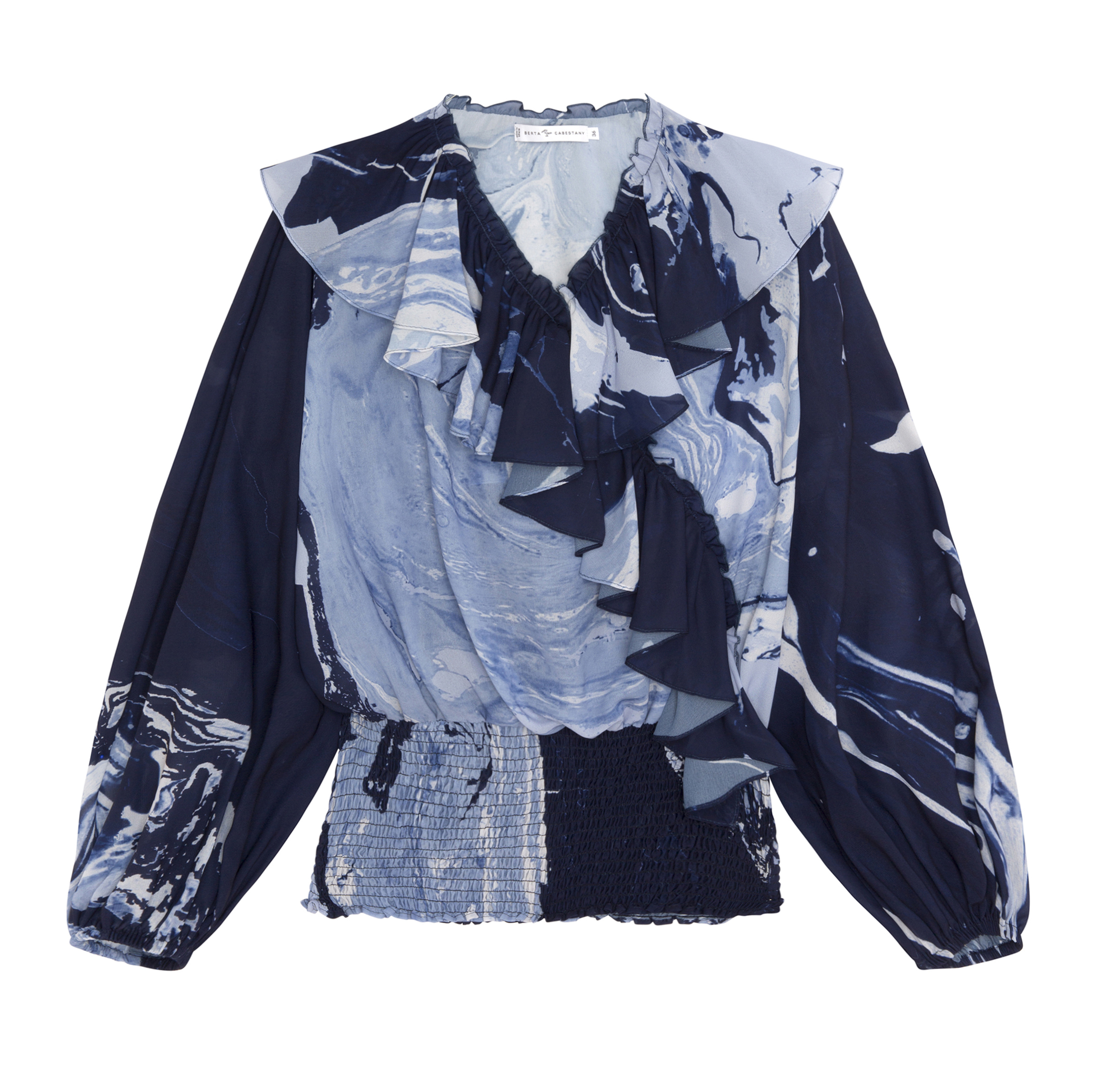 Jardin Blouse by Berta Cabestany on curated-crowd.com