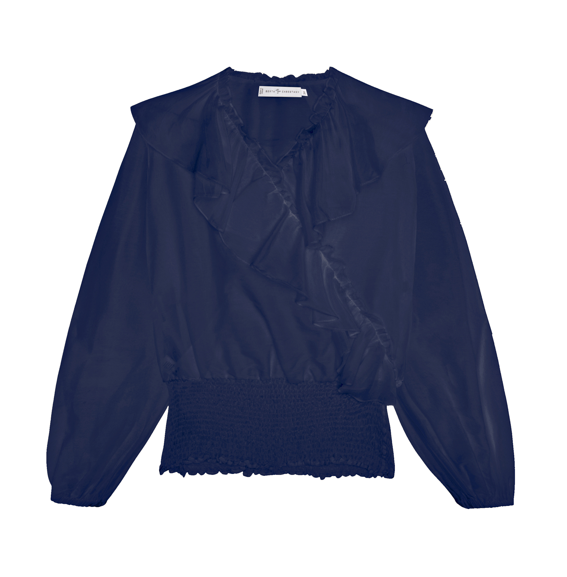 Rita Blouse by Berta Cabestany on curated-crowd.com