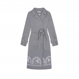 Noche Trench Coat by Berta Cabestany on curated-crowd.com