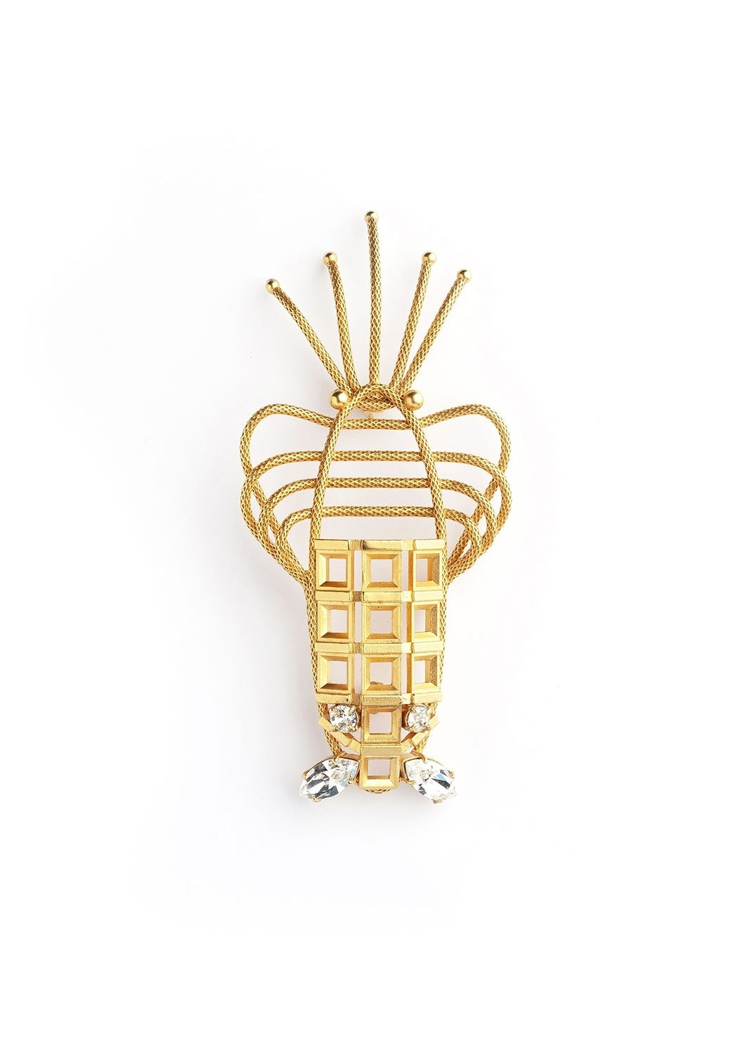 Lobster Luxury Brooch by Sonia Petroff on curated-crowd.com