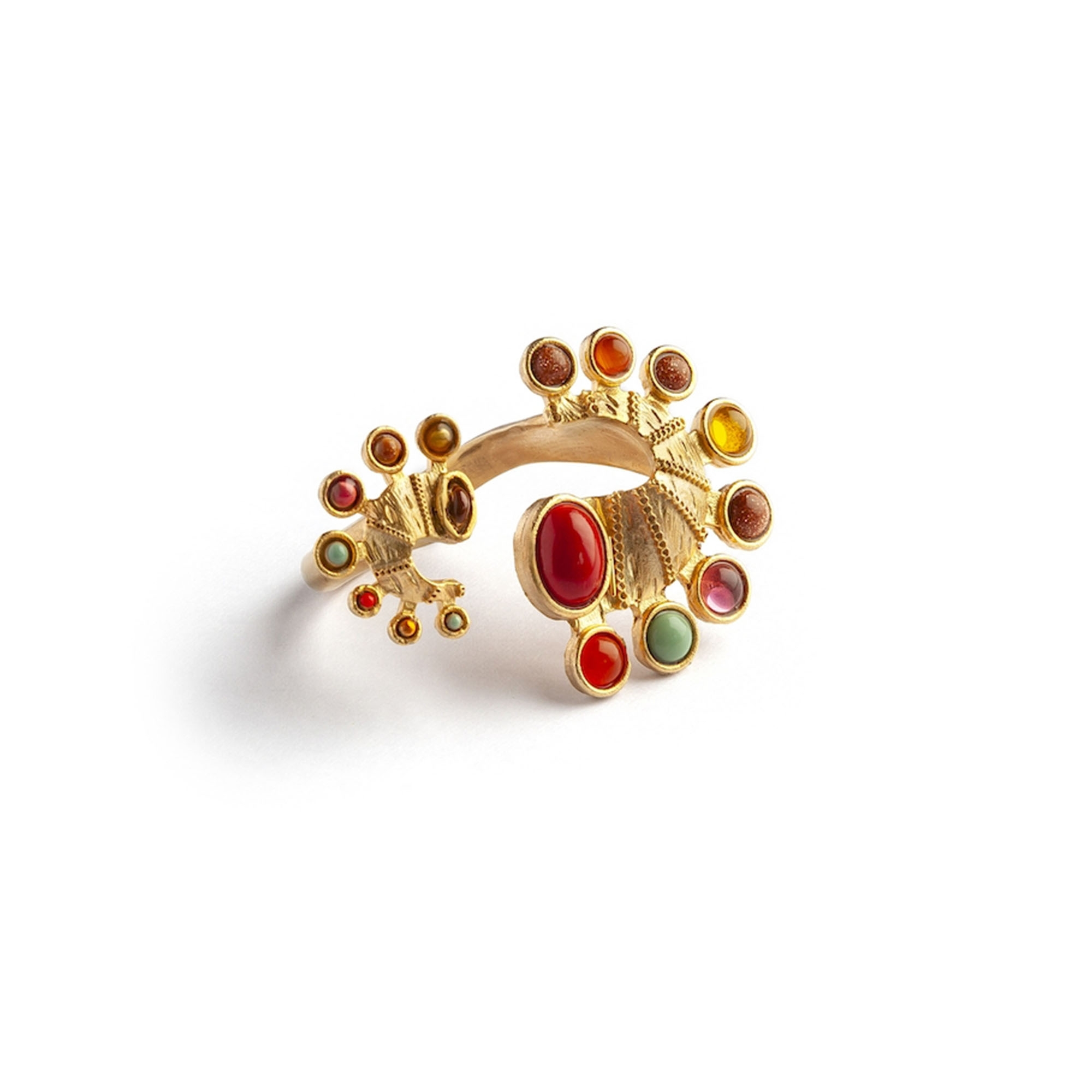 Seahorse Short Luxury Ring by Sonia Petroff on curated-crowd.com