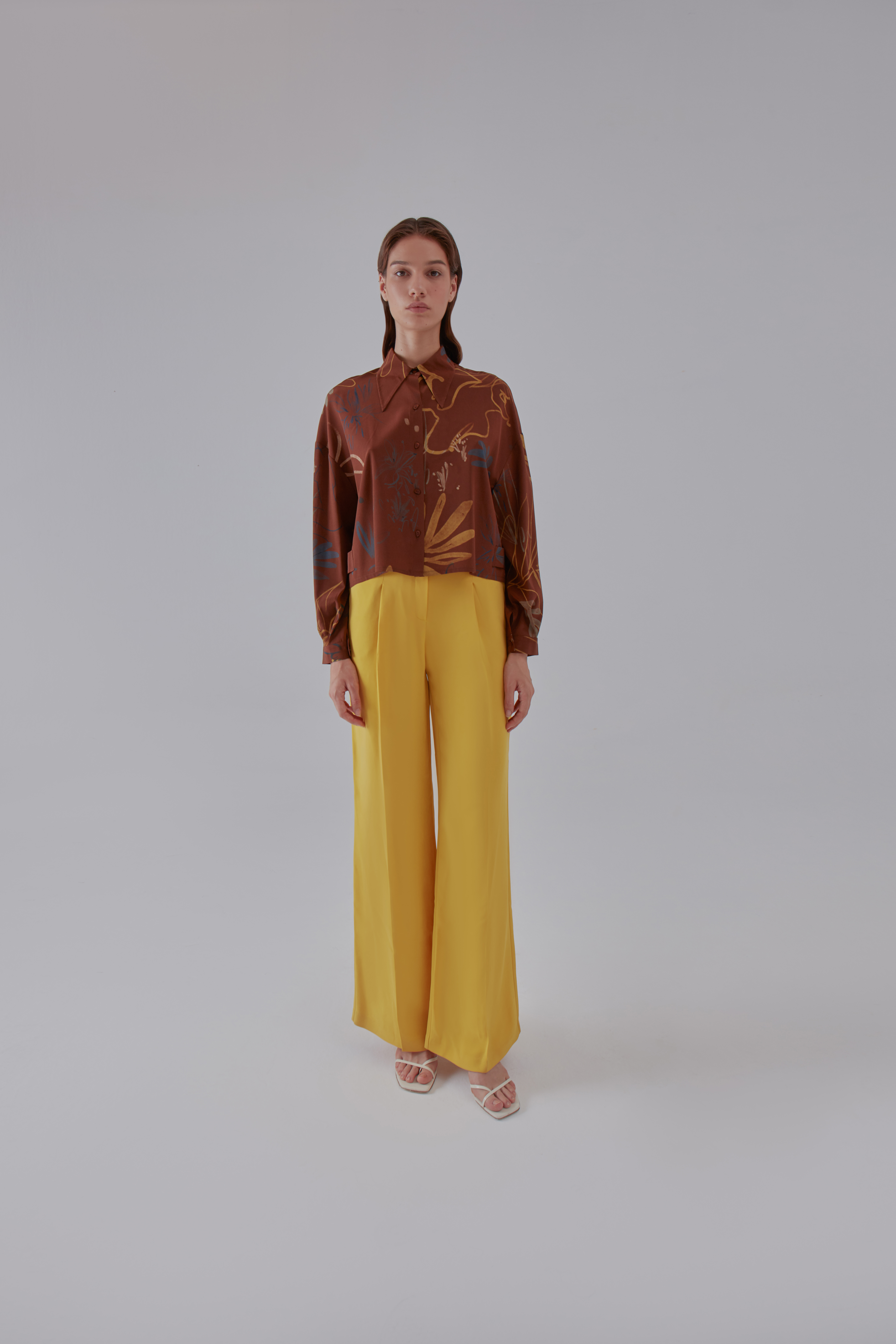 Mellow Shirt - Brown by Laika on curated-crowd.com