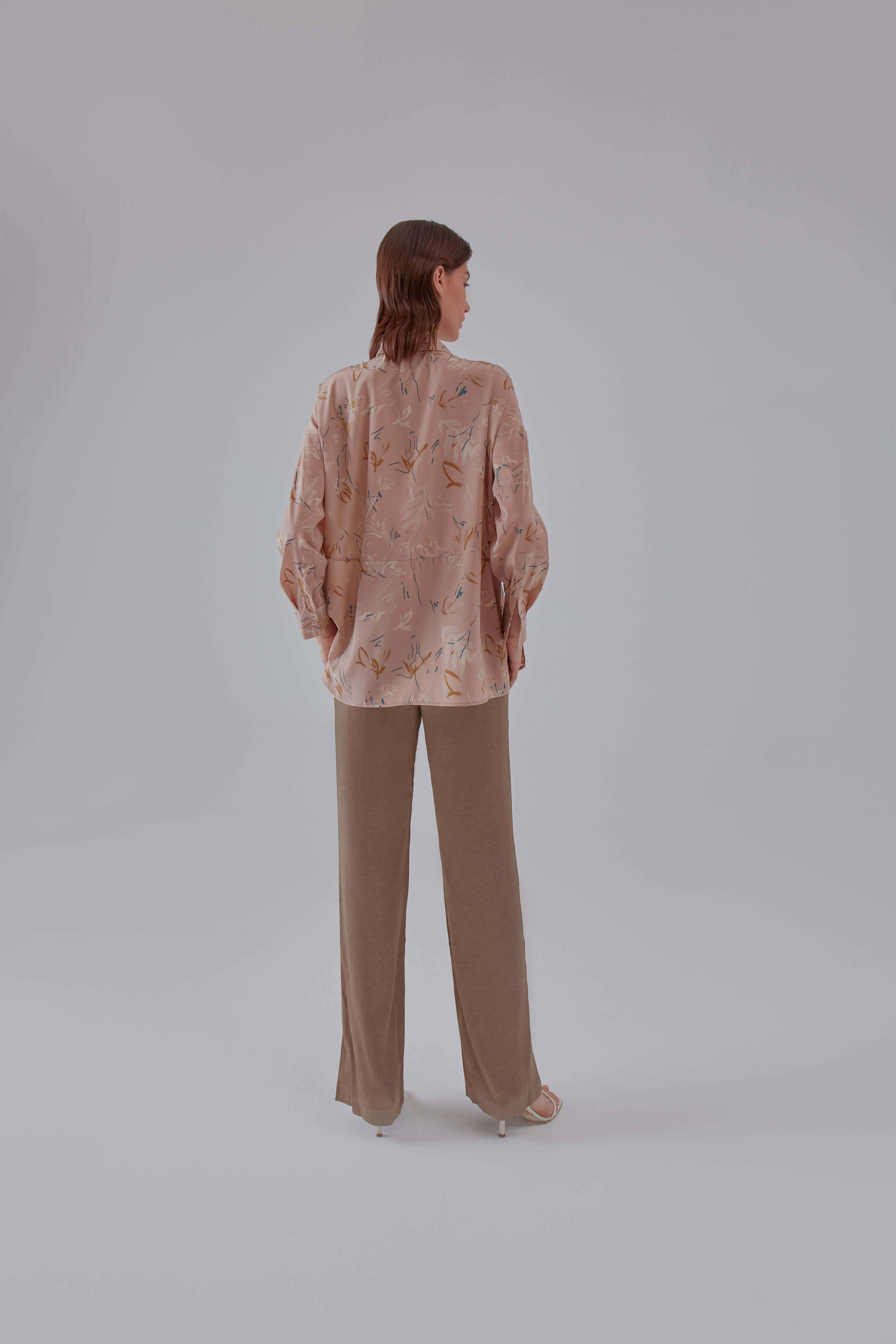 Subtle Shirt - Nude by Laika on curated-crowd.com