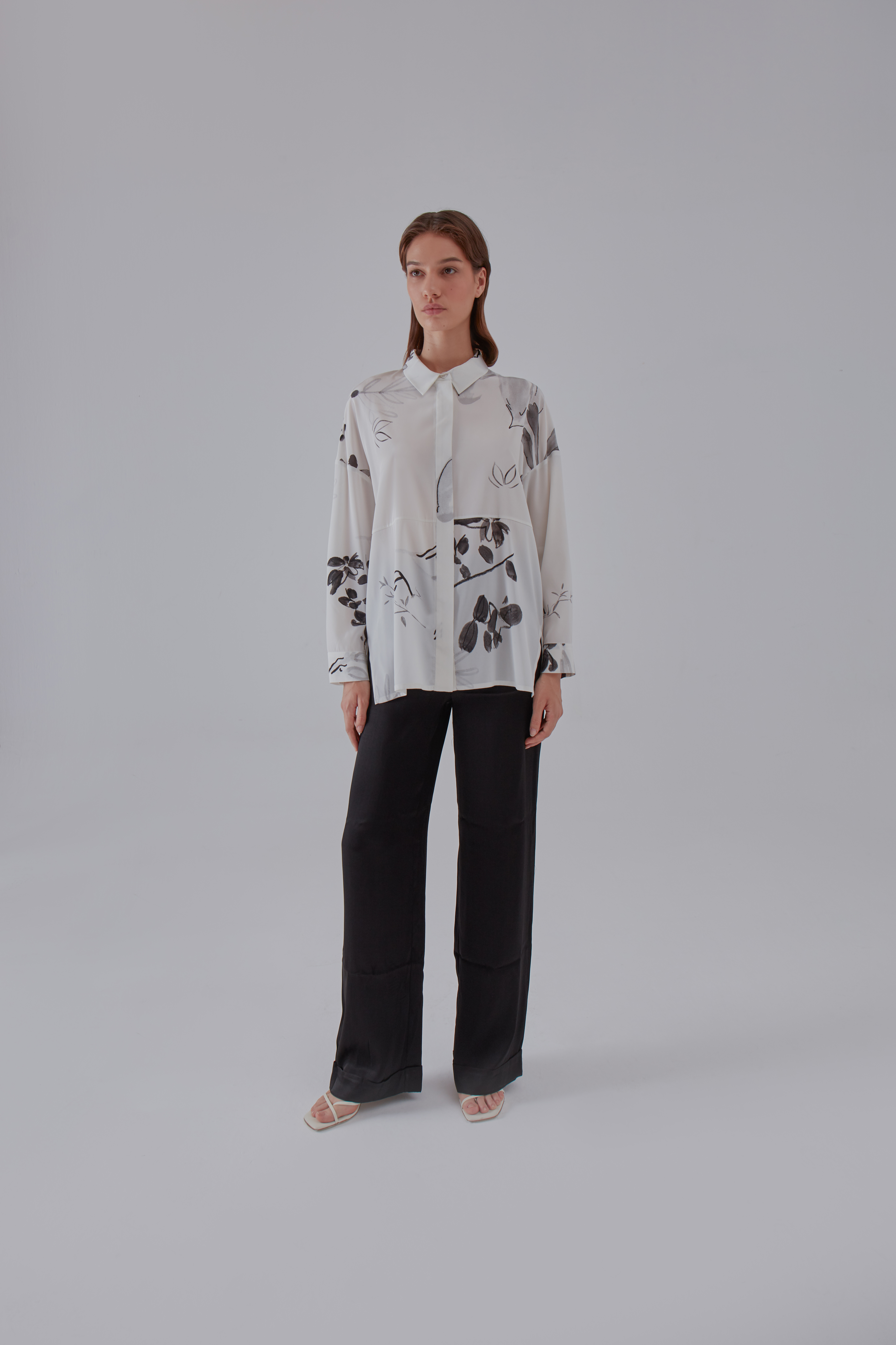 Subtle Shirt - White by Laika on curated-crowd.com