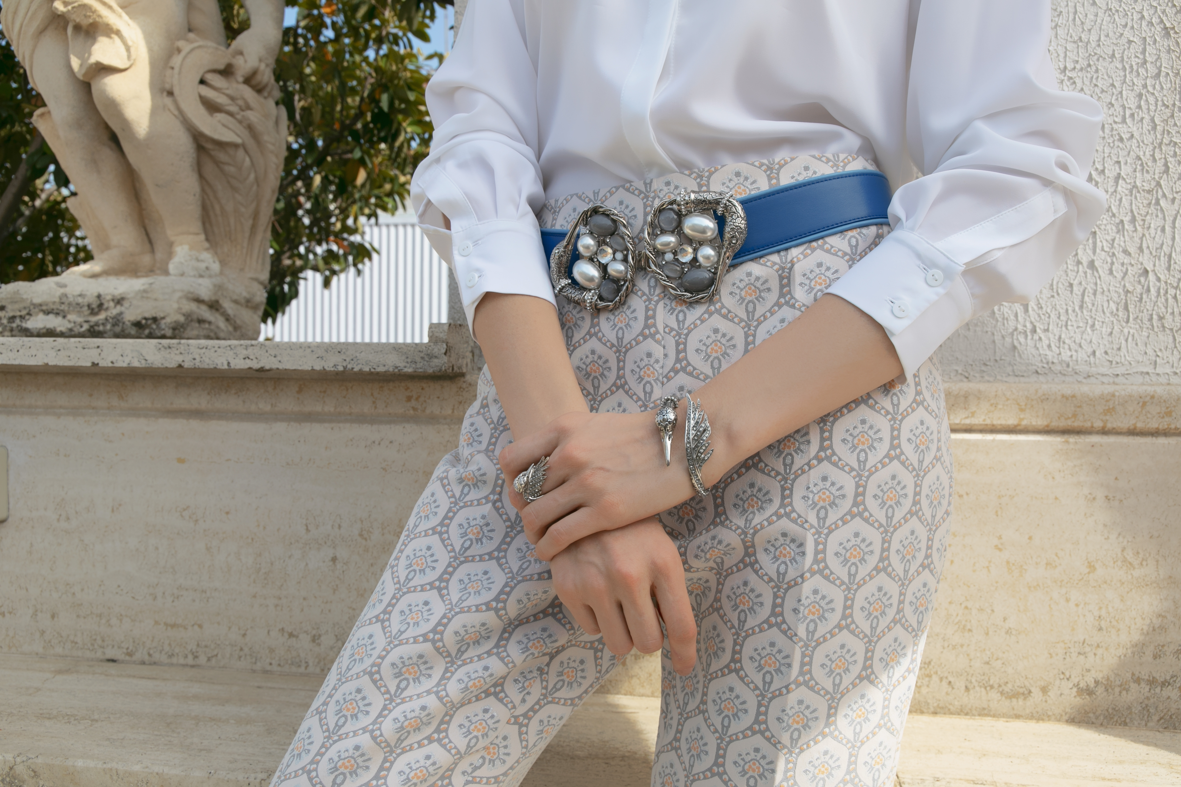 Swan Luxury Bracelet by Sonia Petroff on curated-crowd.com