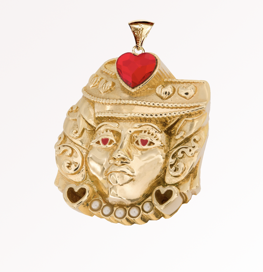 Lover Moor Charm by Acchitto on curated-crowd.com